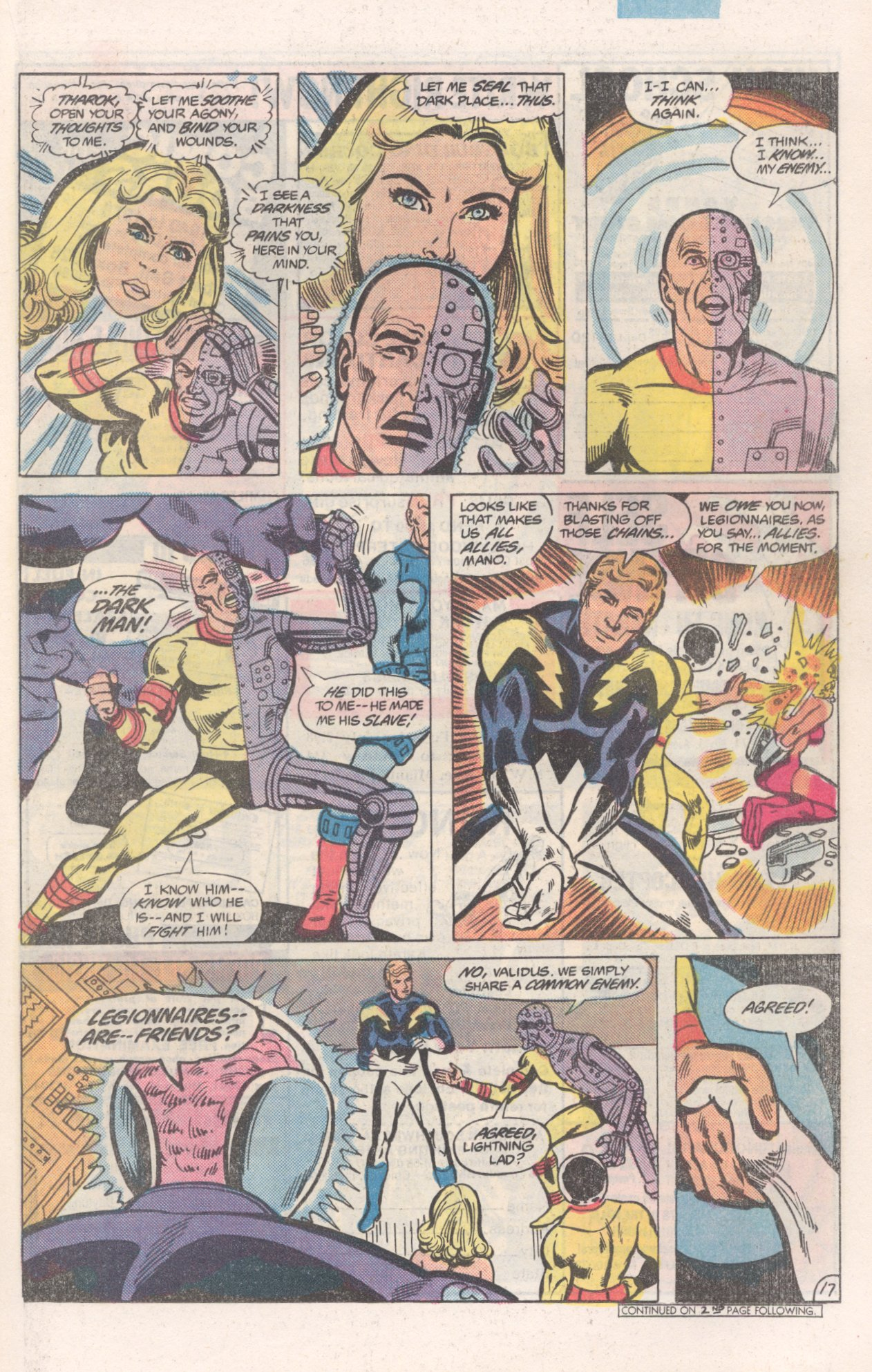 Legion of Super-Heroes (1980) 271 Page 17