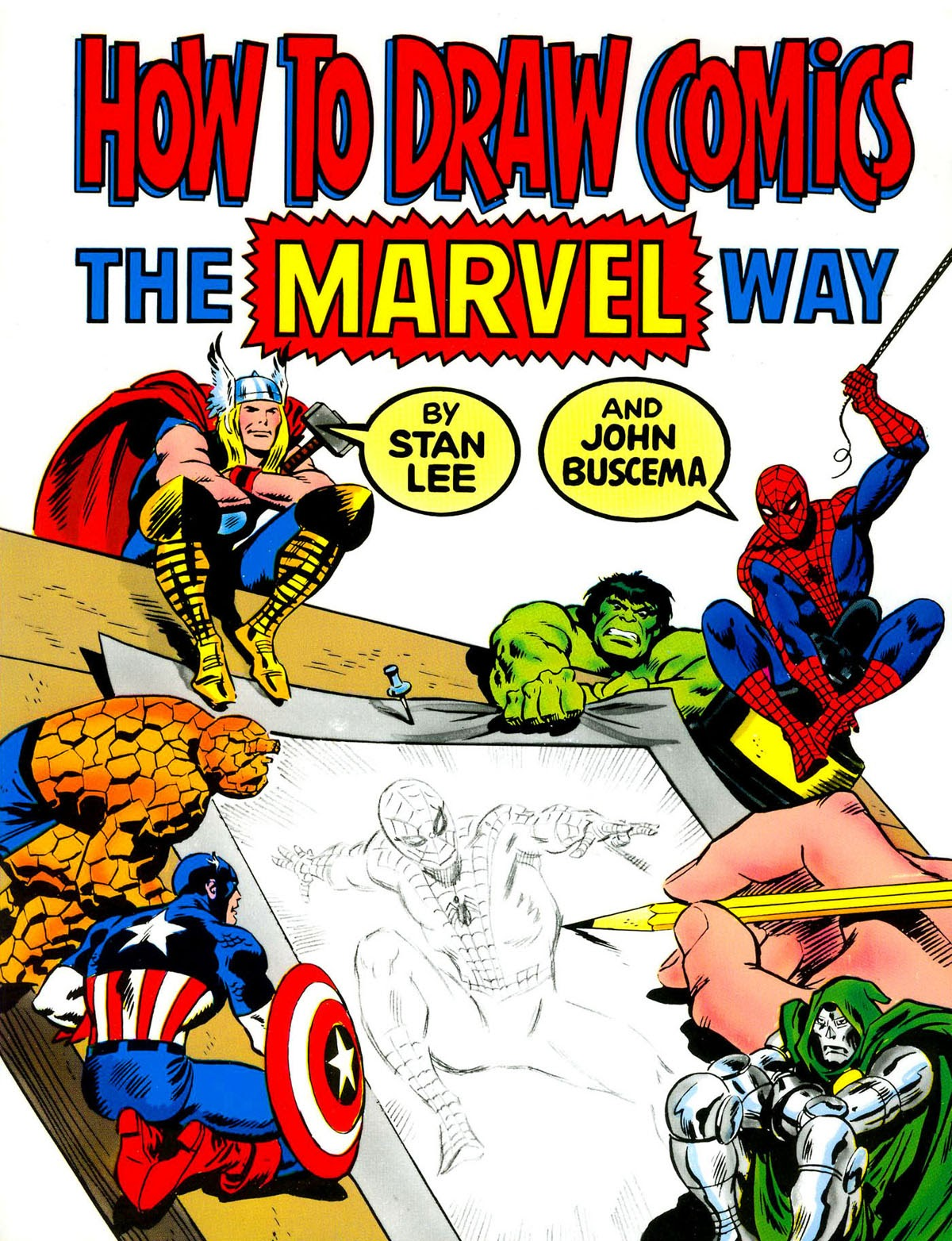 How to Draw Comics the Marvel Way issue TPB - Page 1