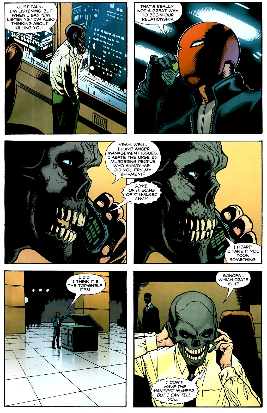 Batman: Under The Hood issue 3 - Page 22