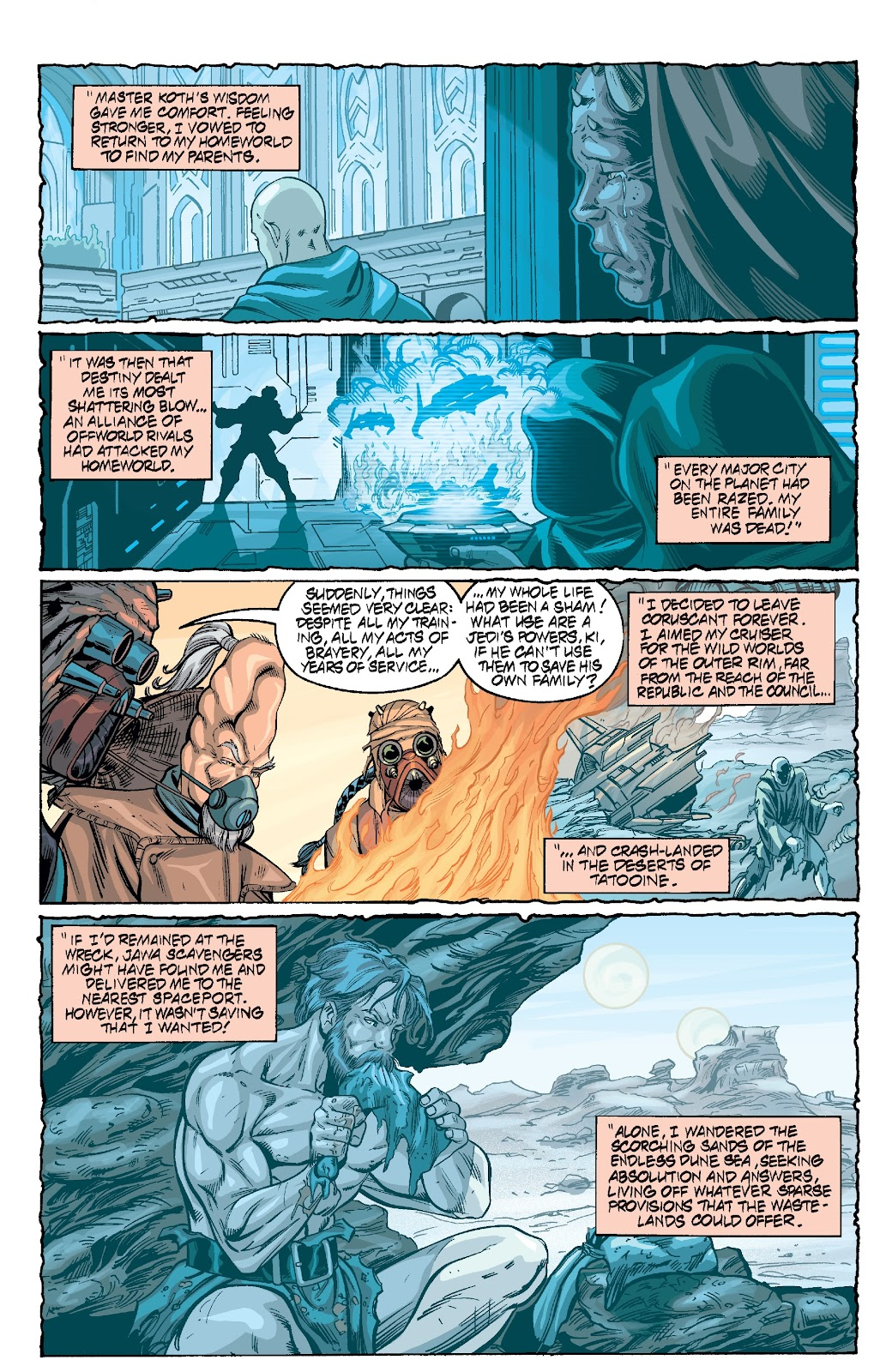 Read online Star Wars Legends Epic Collection: The Menace Revealed comic -  Issue # TPB (Part 3) - 1