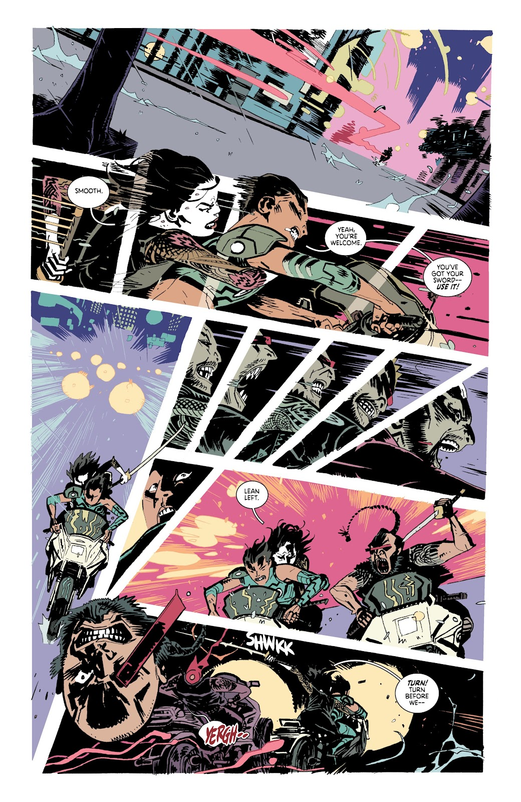 Read online Deadly Class comic -  Issue #37 - 17