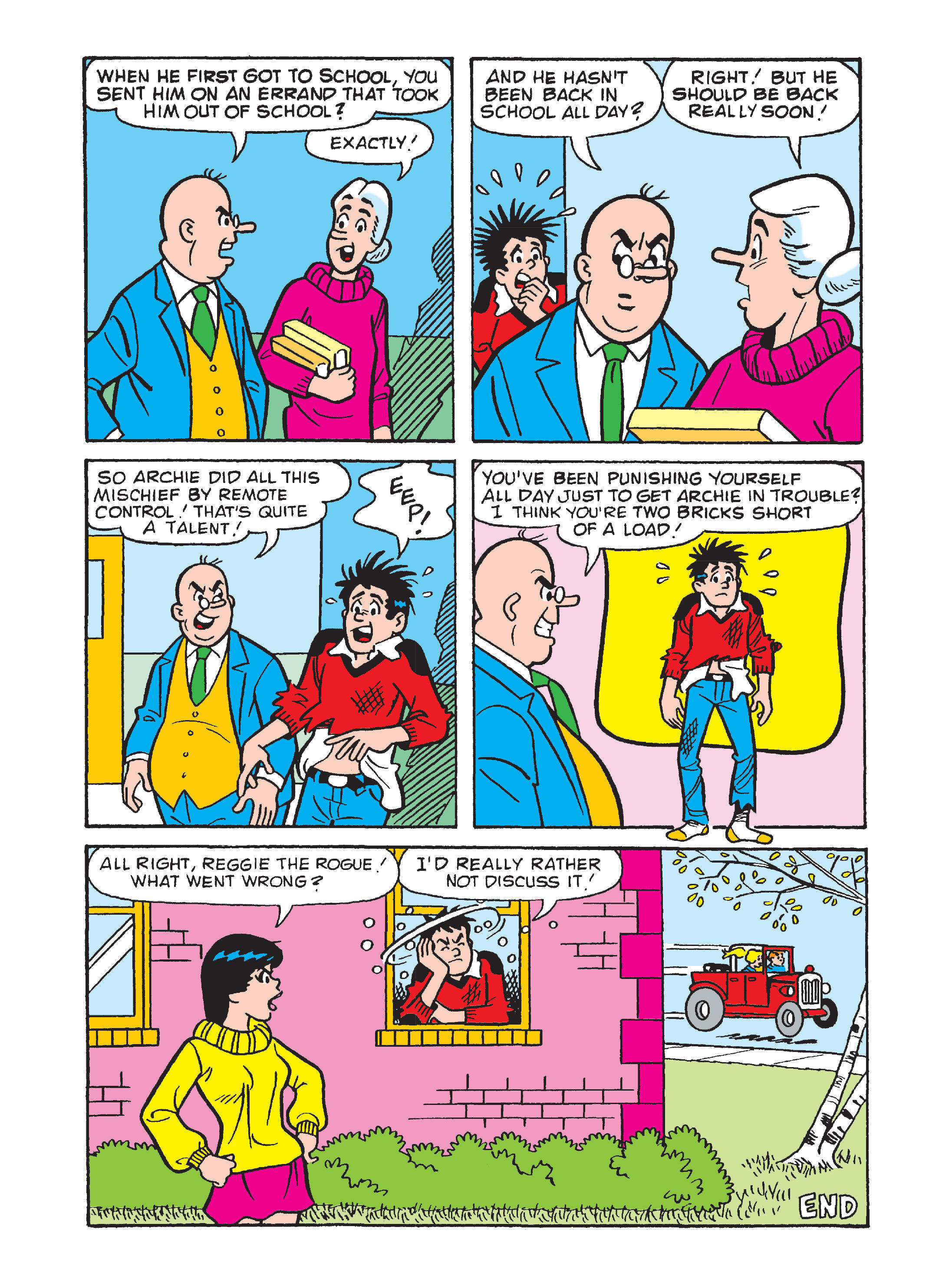 Read online Archie's Funhouse Double Digest comic -  Issue #12 - 12
