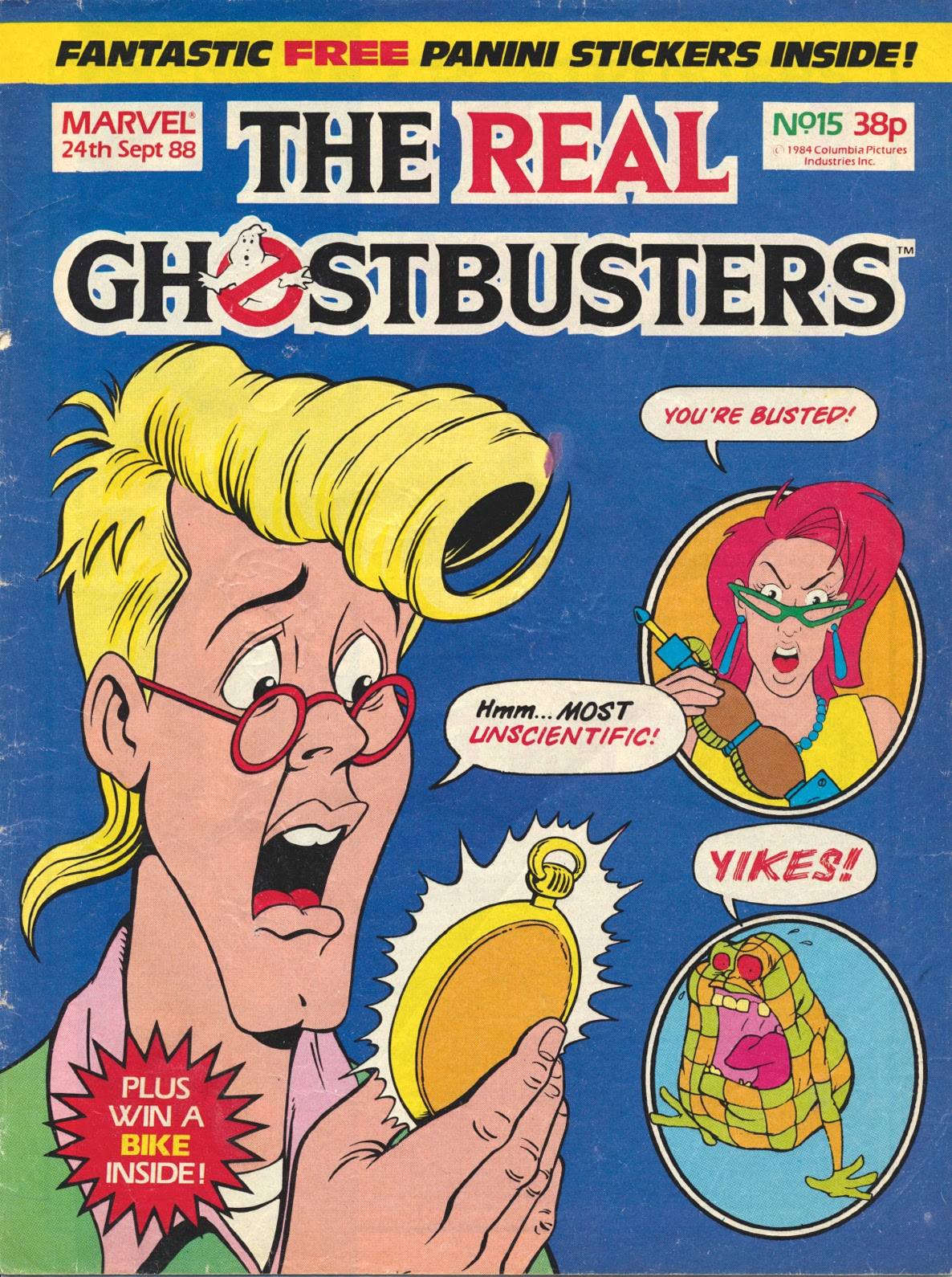 The Real Ghostbusters 15 Page 1