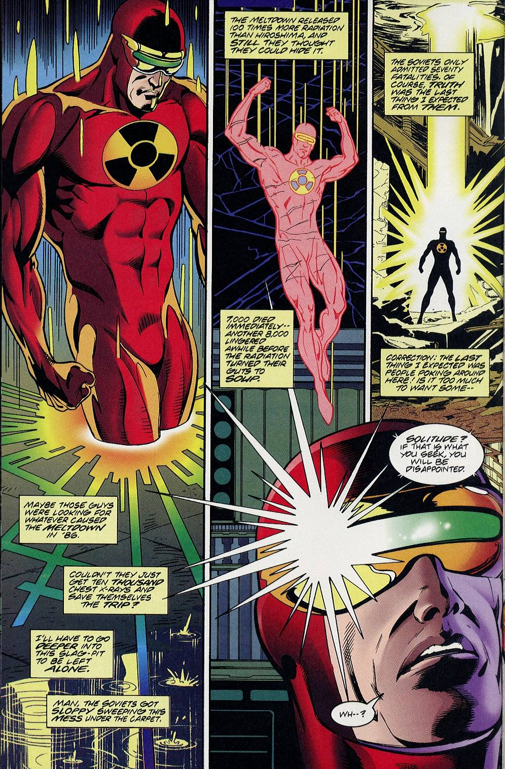 Read online Solar, Man of the Atom comic -  Issue #58 - 5
