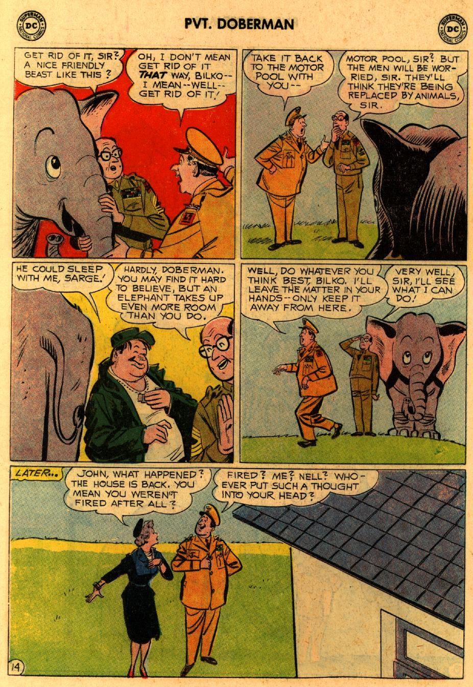 Sgt. Bilko's Pvt. Doberman issue 9 - Page 18