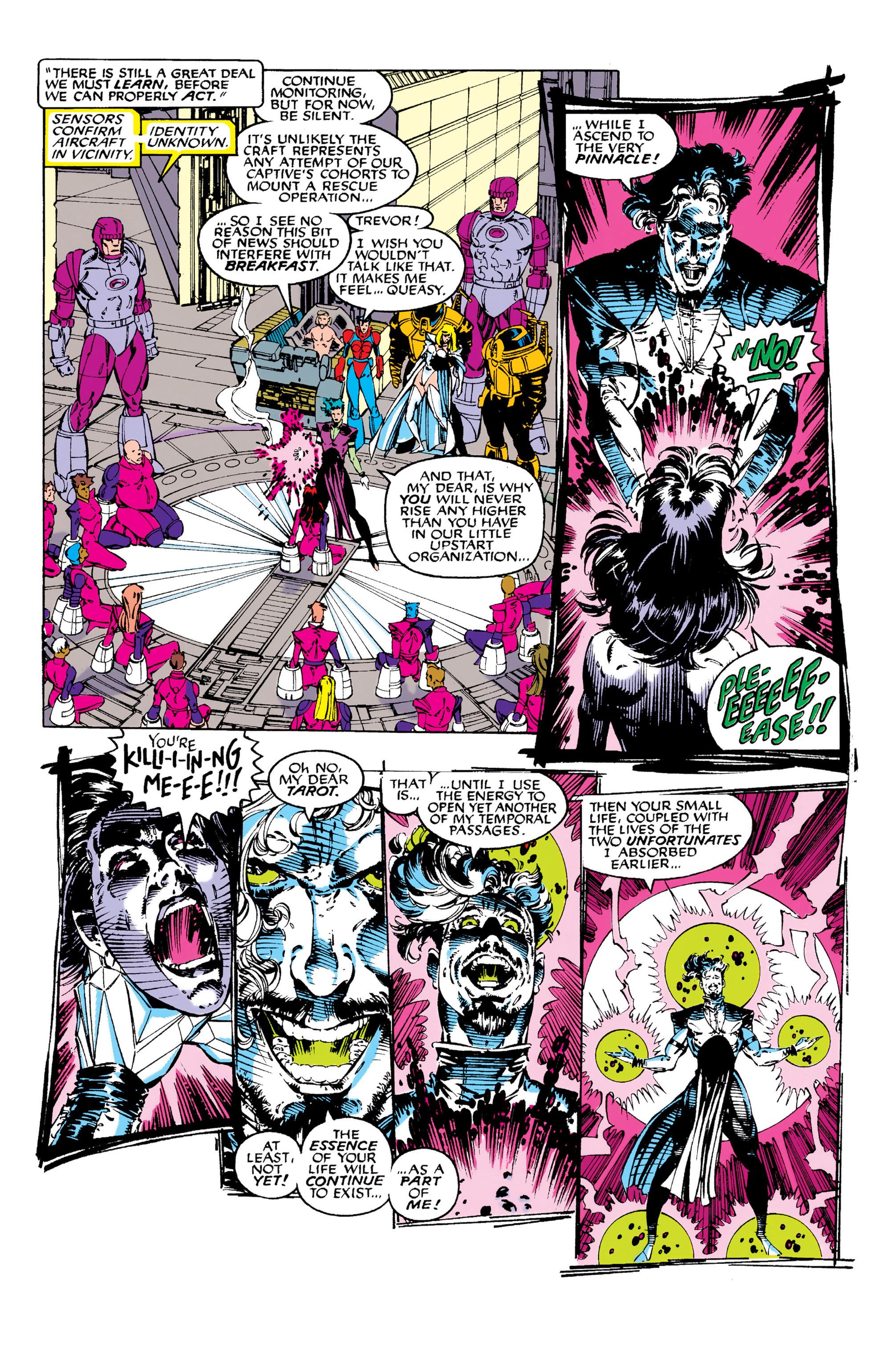 Read online Uncanny X-Men (1963) comic -  Issue #282 - 10