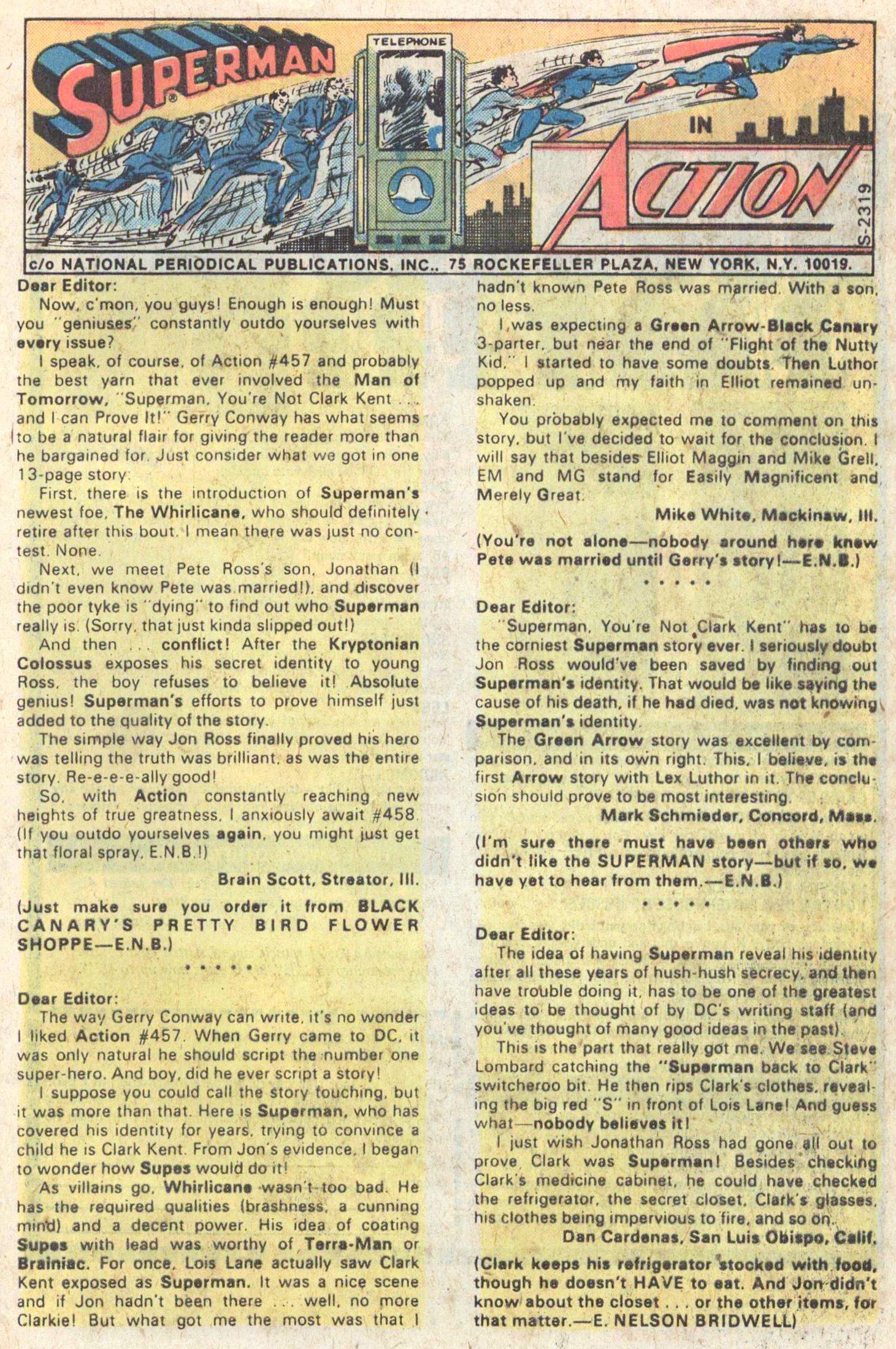Action Comics (1938) 461 Page 32