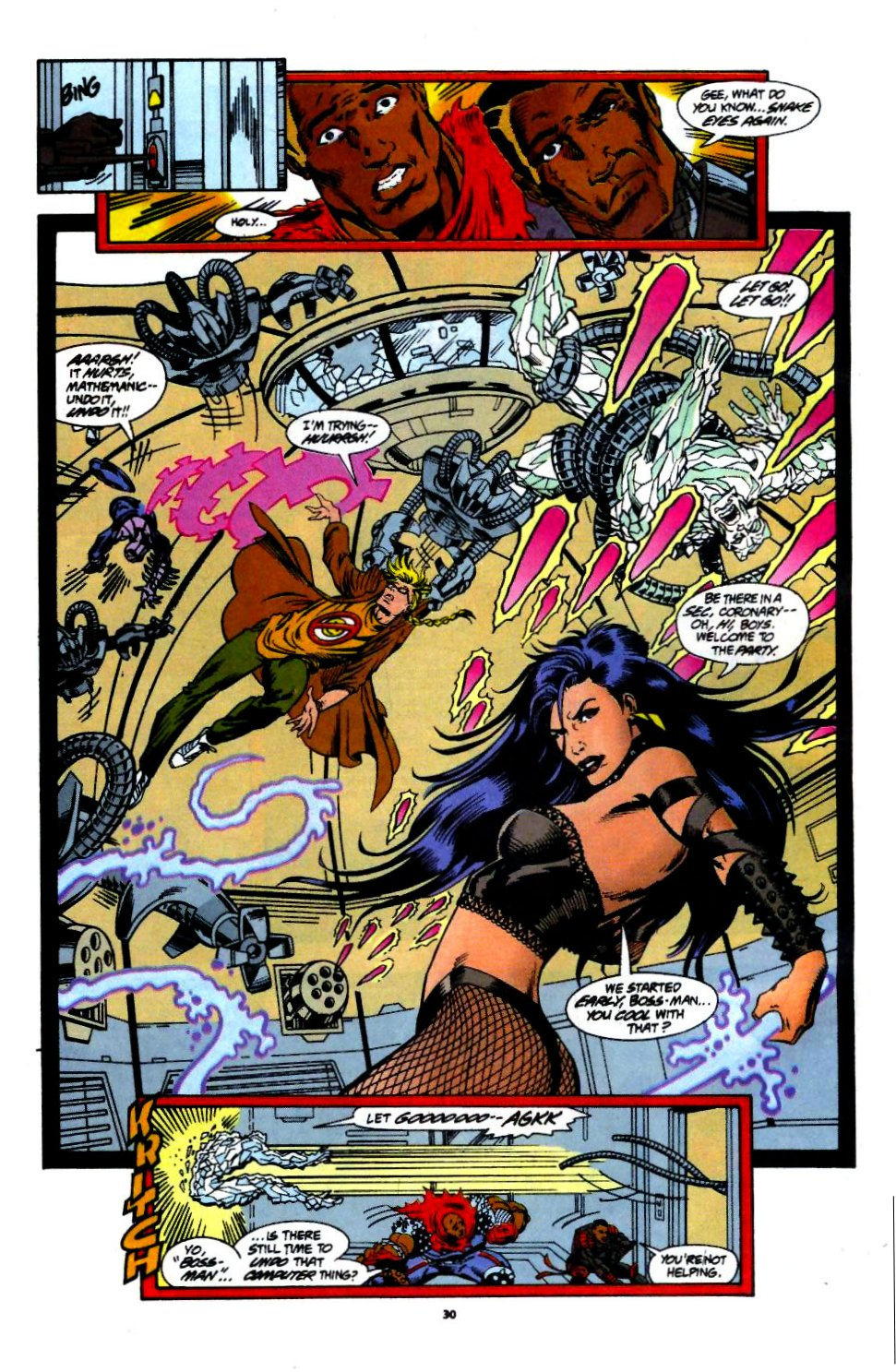 The New Warriors Issue #60 #64 - English 22