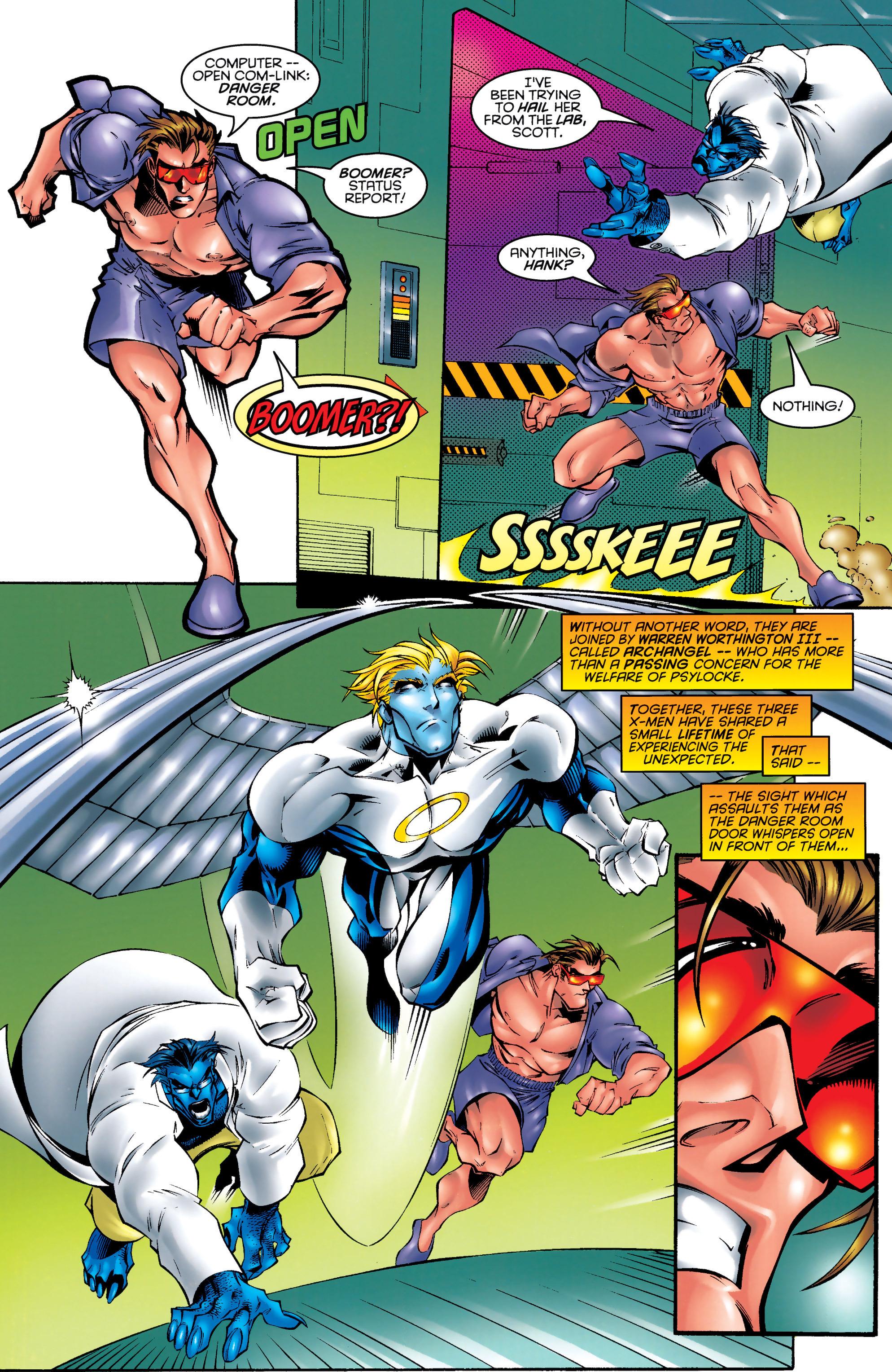 Read online Uncanny X-Men (1963) comic -  Issue #328 - 21