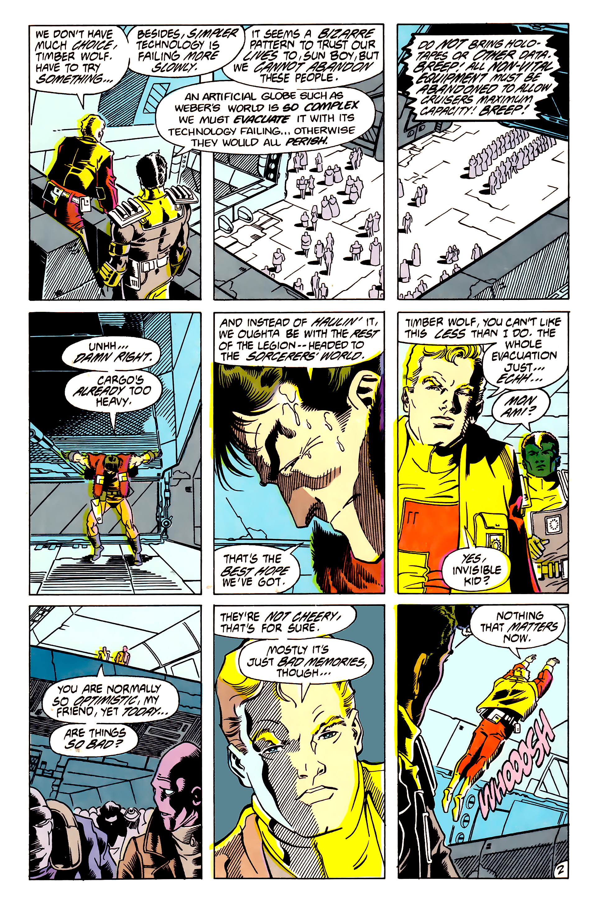 Legion of Super-Heroes (1984) 62 Page 2