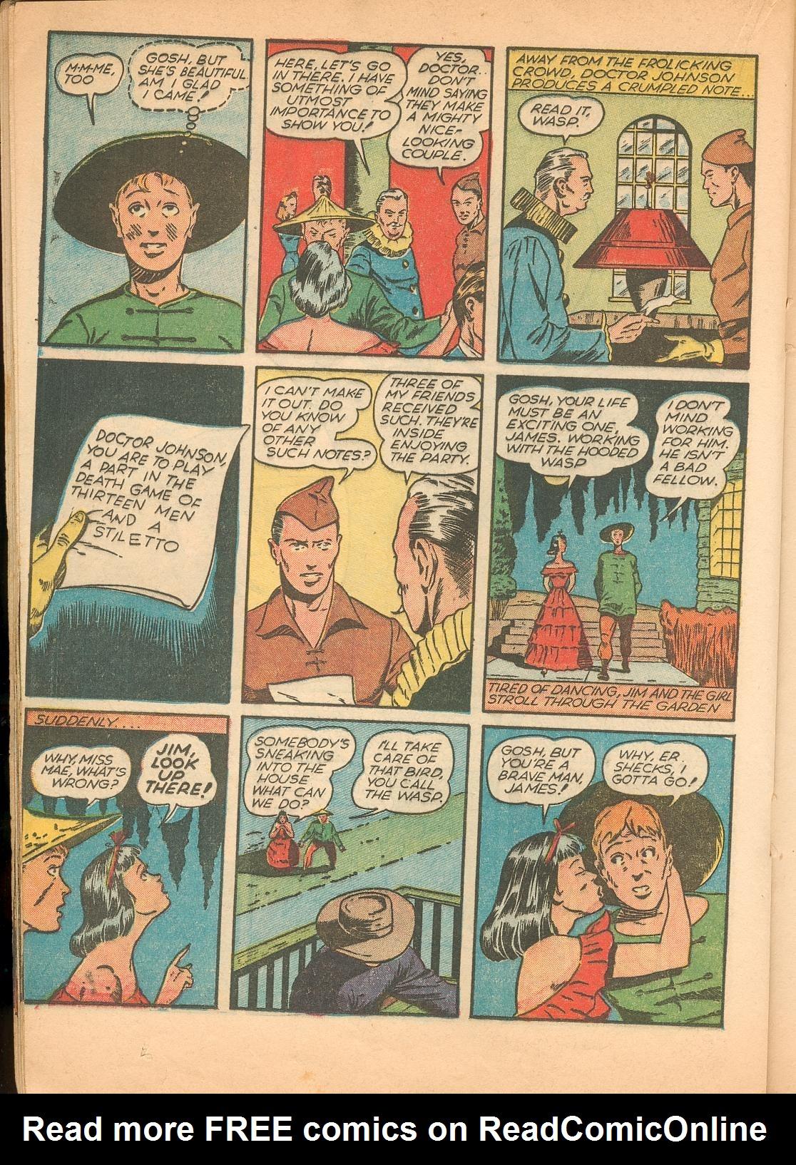 Read online Shadow Comics comic -  Issue #11 - 38