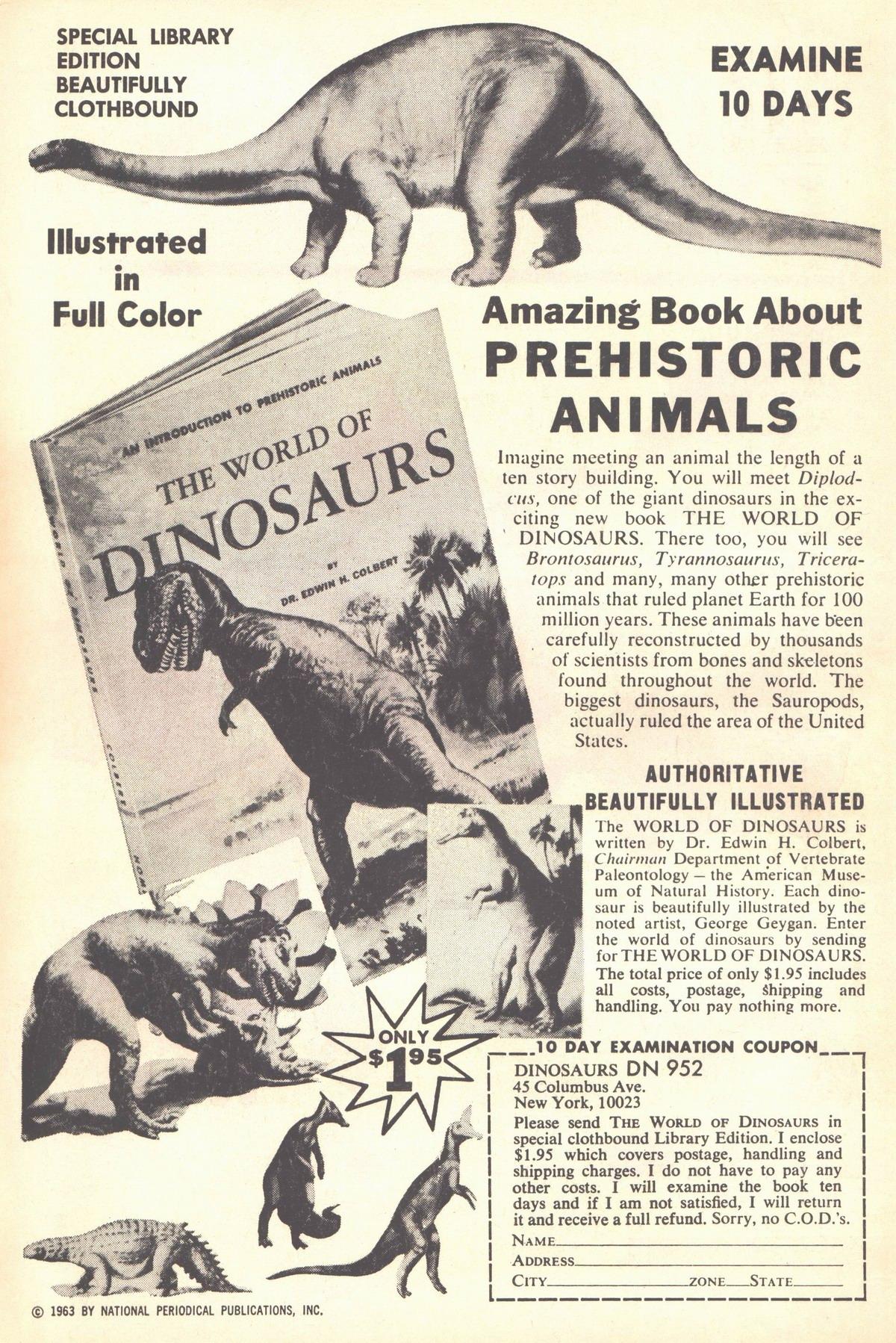 Read online Adventure Comics (1938) comic -  Issue #317 - 2