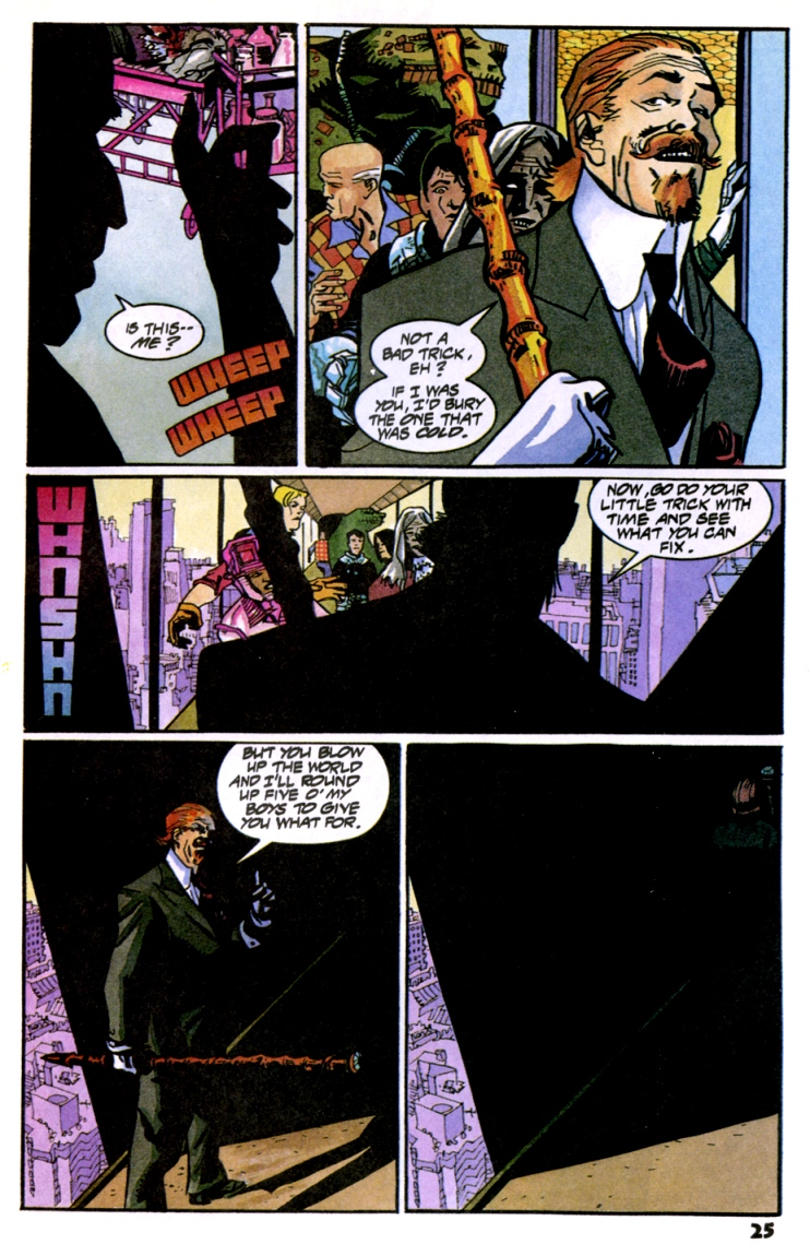 Read online Shadow Cabinet comic -  Issue #10 - 27