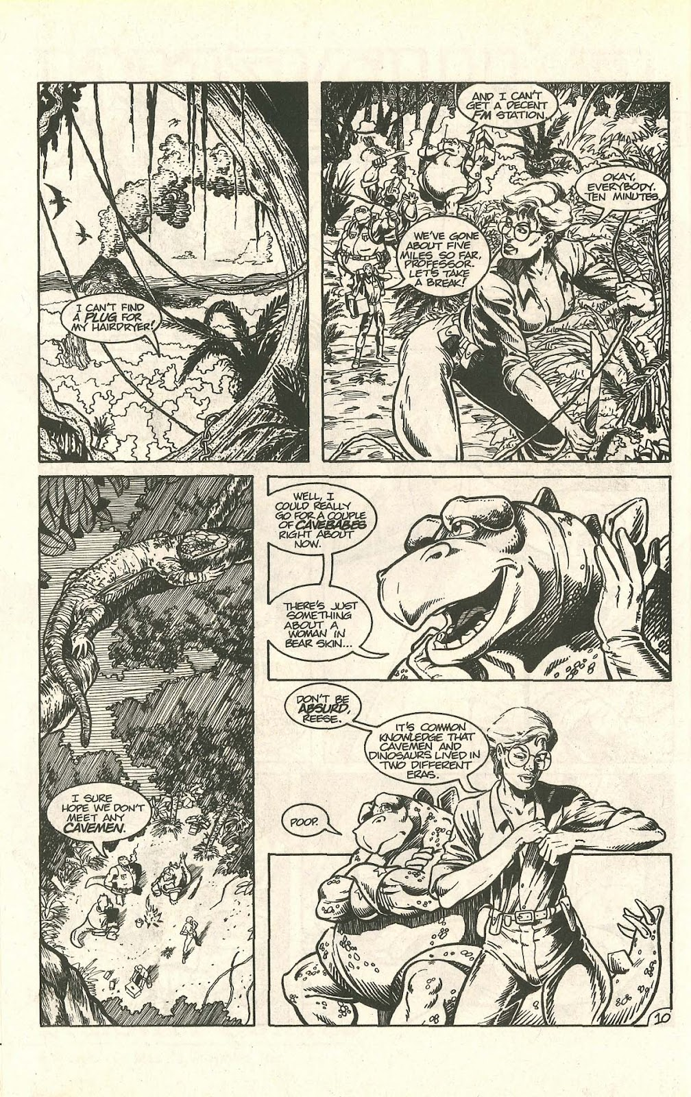 Dinosaurs For Hire (1988) issue 9 - Page 14