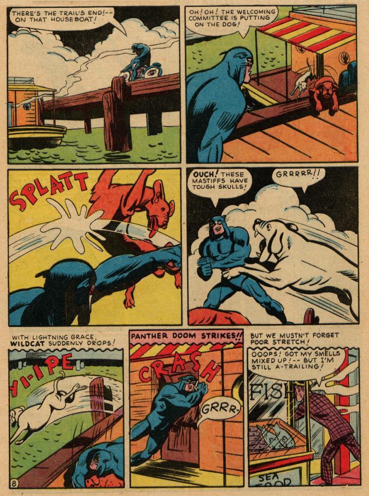 Read online Sensation (Mystery) Comics comic -  Issue #36 - 48