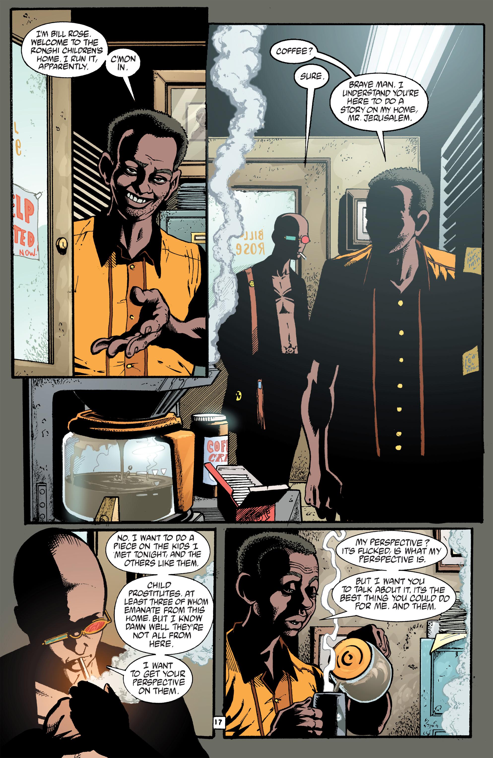 Read online Transmetropolitan comic -  Issue #40 - 18