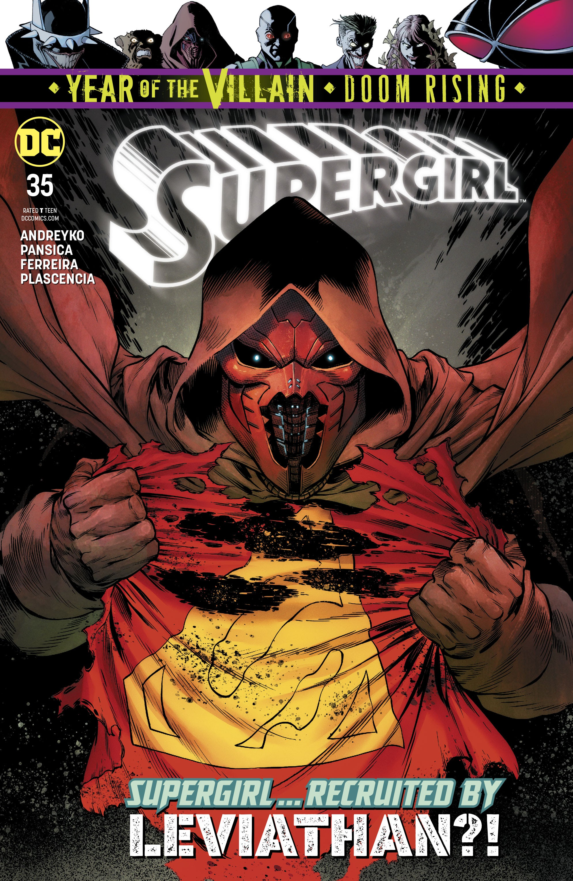 Supergirl (2016) issue 35 - Page 1