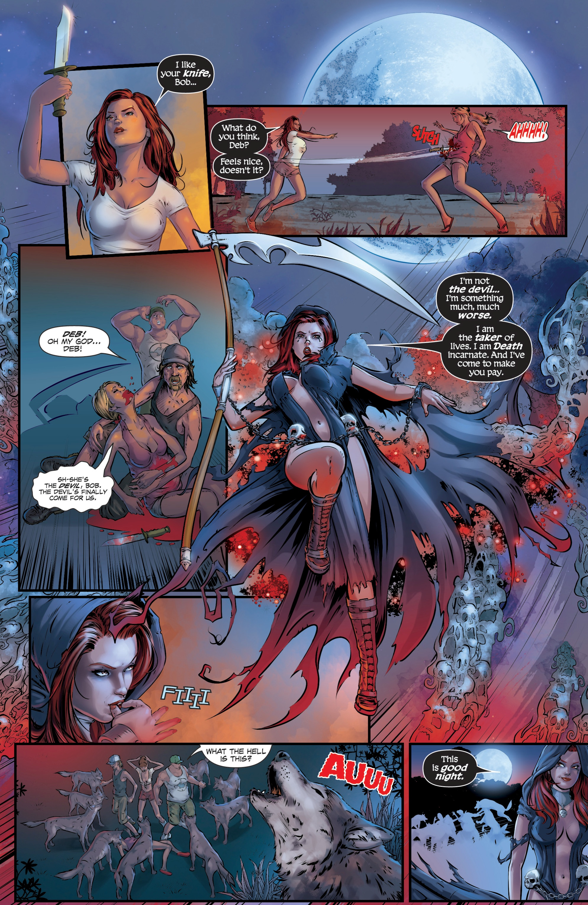 Read online Grimm Fairy Tales presents Death comic -  Issue # Full - 7