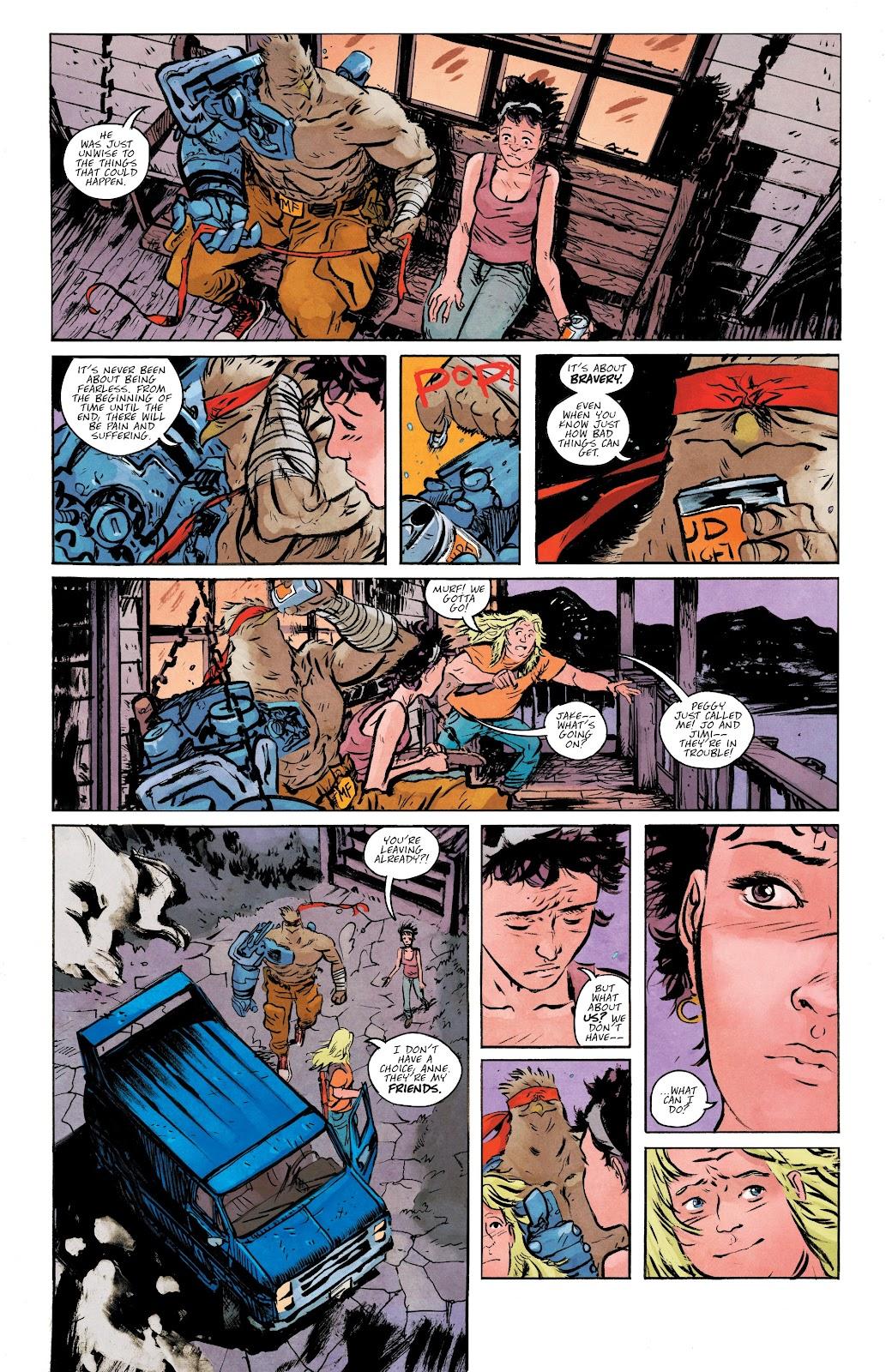 Read online Murder Falcon comic -  Issue #5 - 15