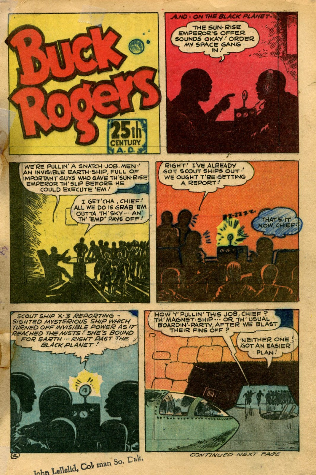 Read online Famous Funnies comic -  Issue #135 - 5