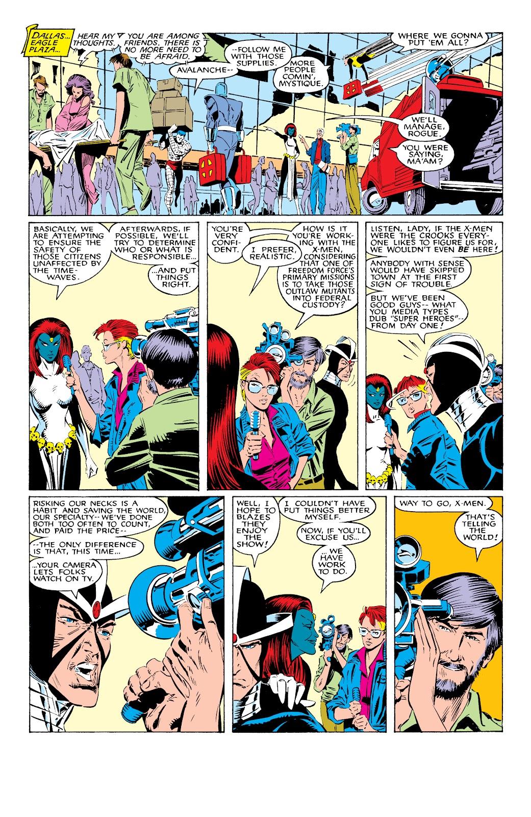 Read online X-Men Milestones: Fall of the Mutants comic -  Issue # TPB (Part 1) - 46