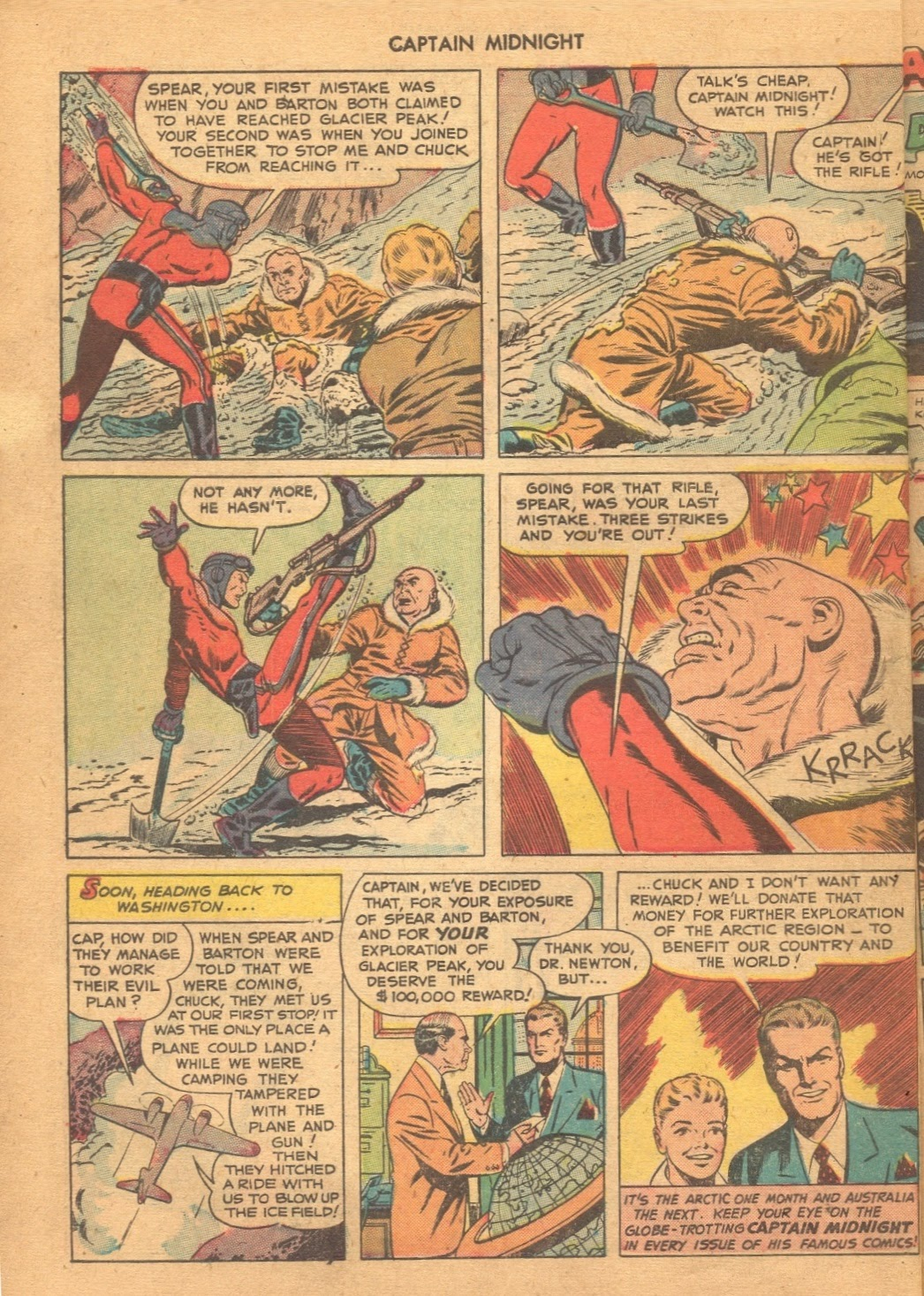 Captain Midnight (1942) issue 61 - Page 10