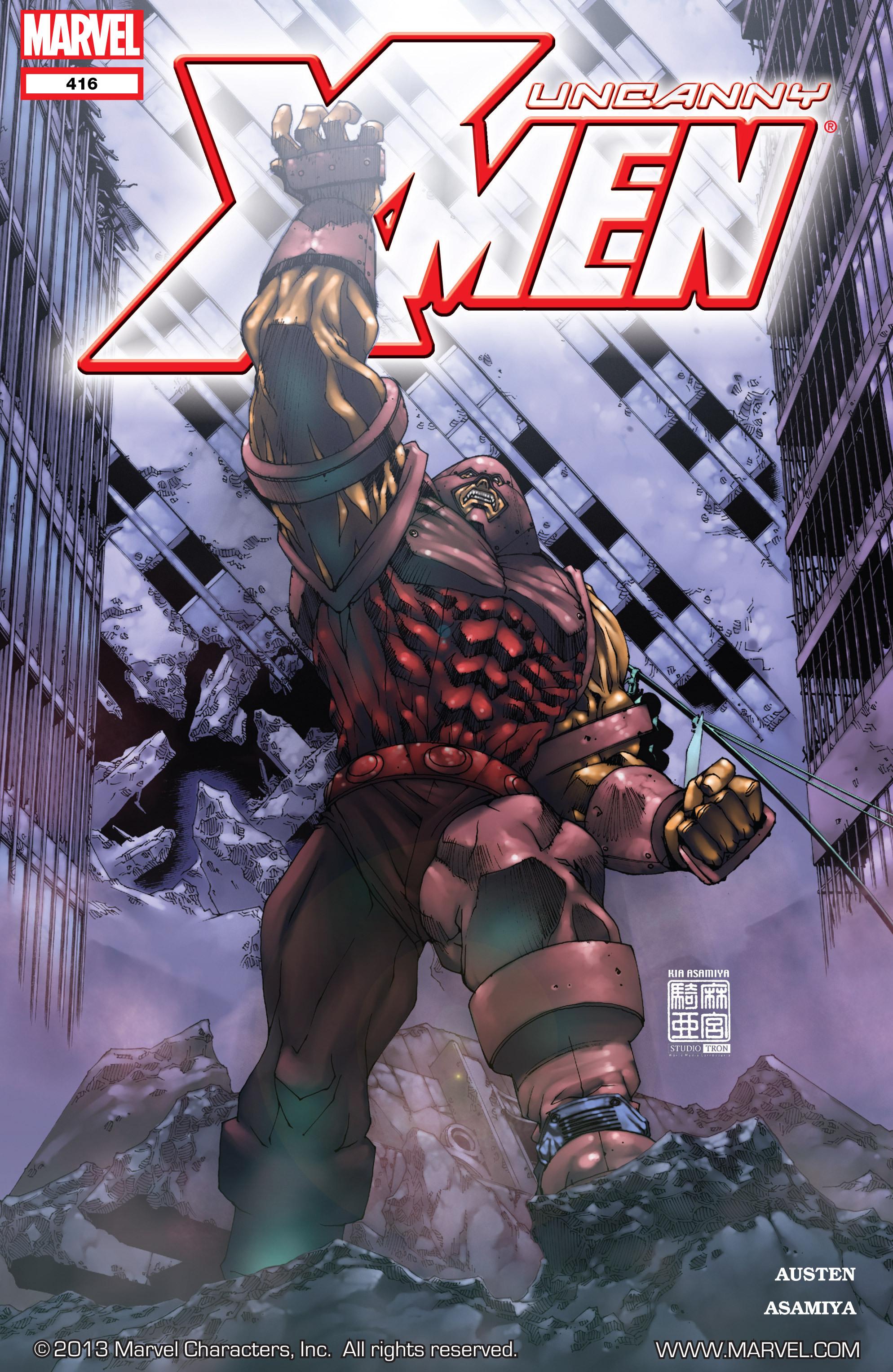 Uncanny X-Men (1963) 416 Page 1