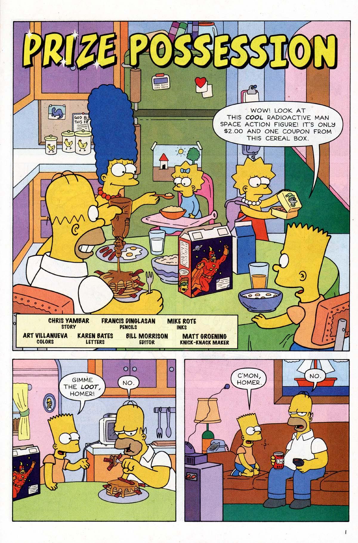 Read online Simpsons Comics Presents Bart Simpson comic -  Issue #9 - 18