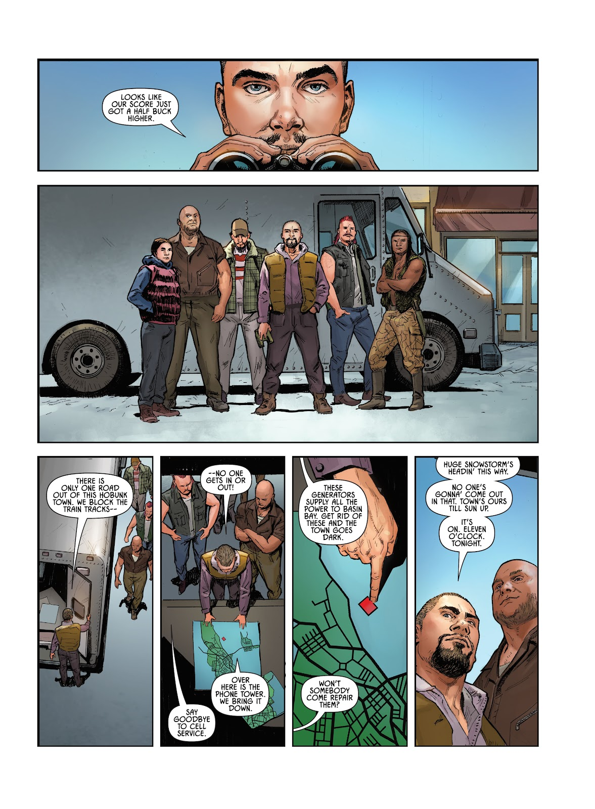Savage Circus issue 1 - Page 13