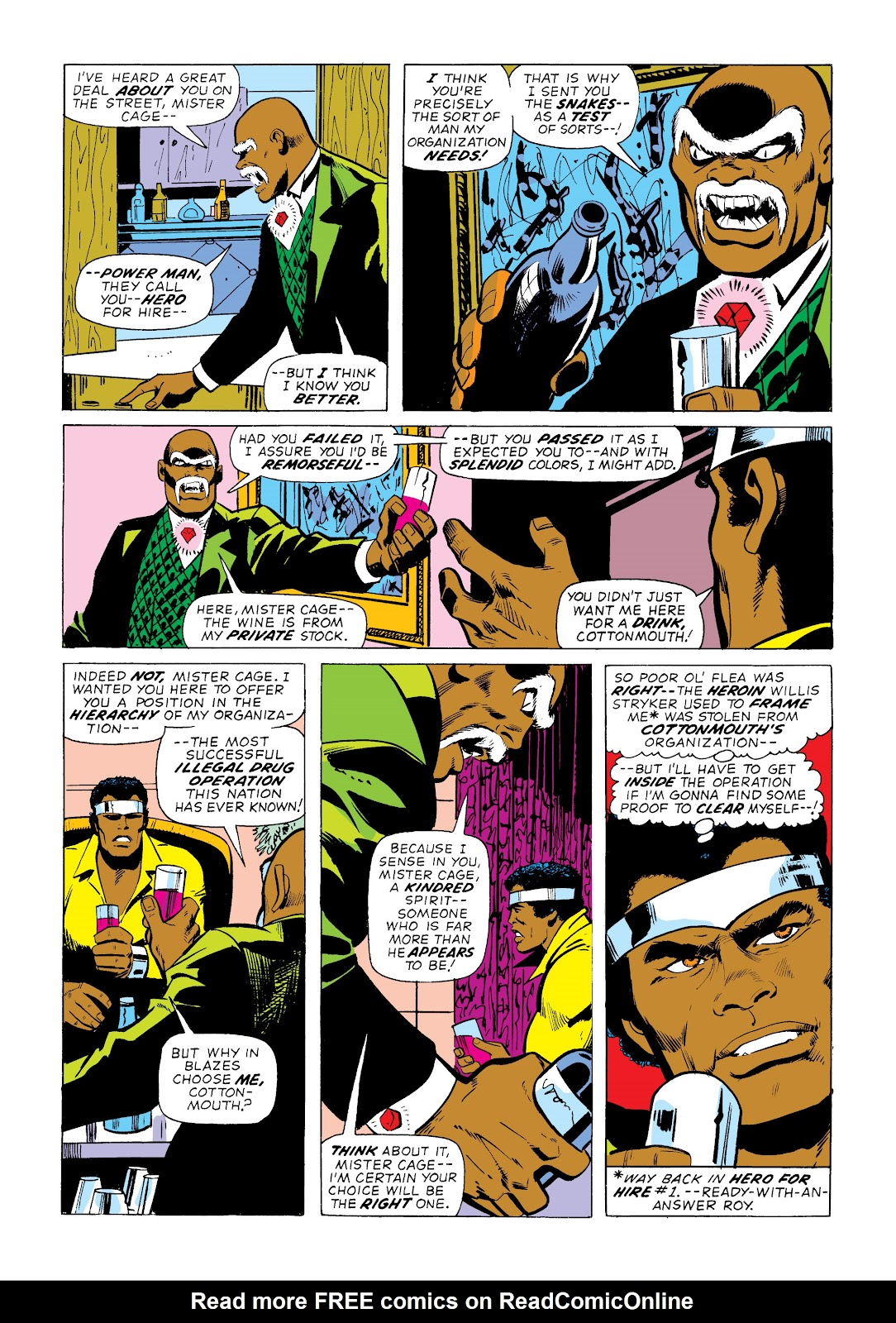 Read online Marvel Masterworks: Luke Cage, Power Man comic -  Issue # TPB 2 (Part 1) - 59