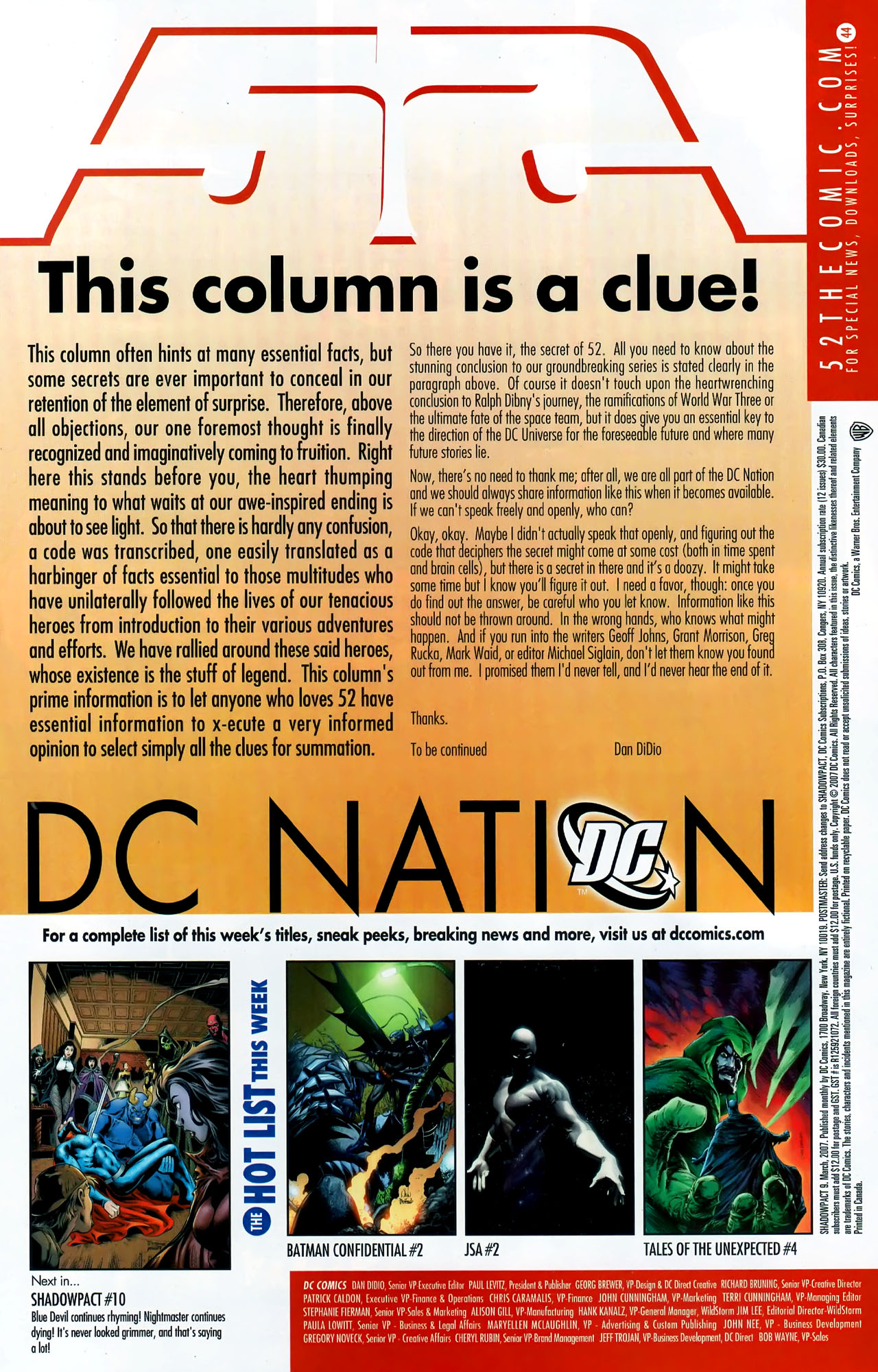 Read online Shadowpact comic -  Issue #9 - 23