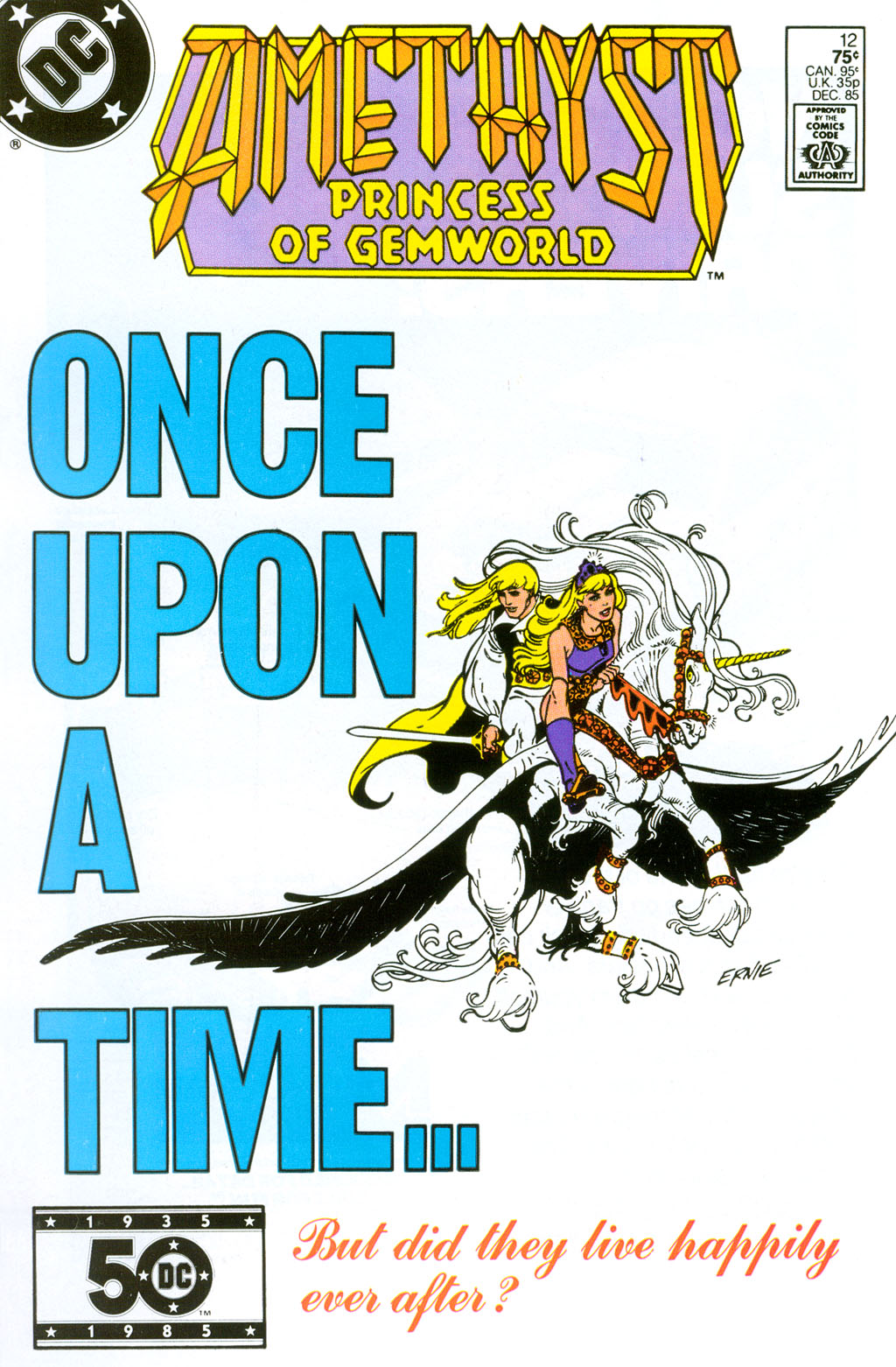 Read online Amethyst (1985) comic -  Issue #12 - 1