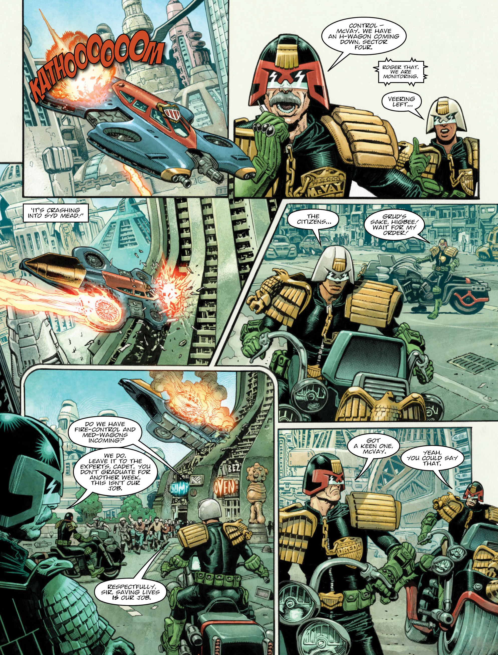 Read online 2000 AD comic -  Issue #2035 - 4