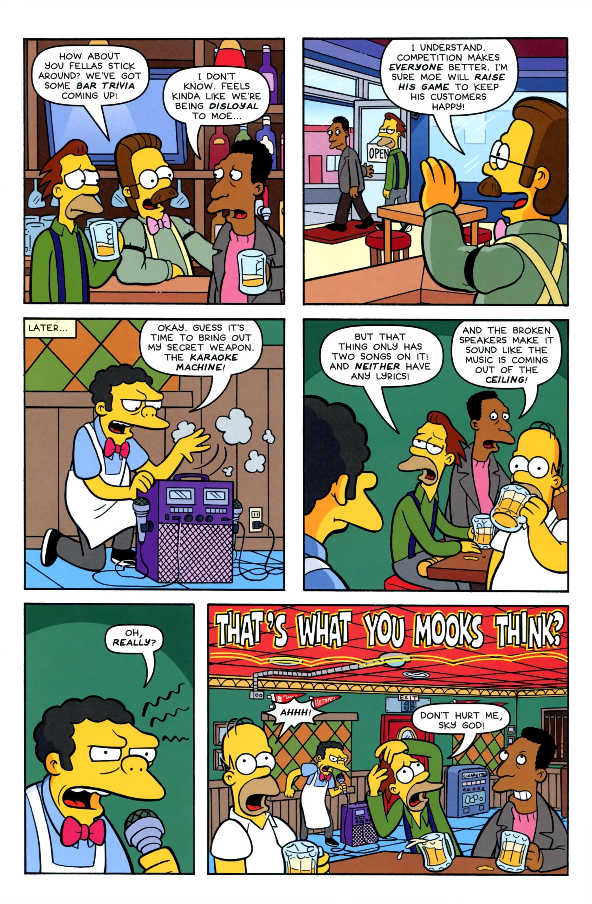 Read online Simpsons Comics comic -  Issue #220 - 9