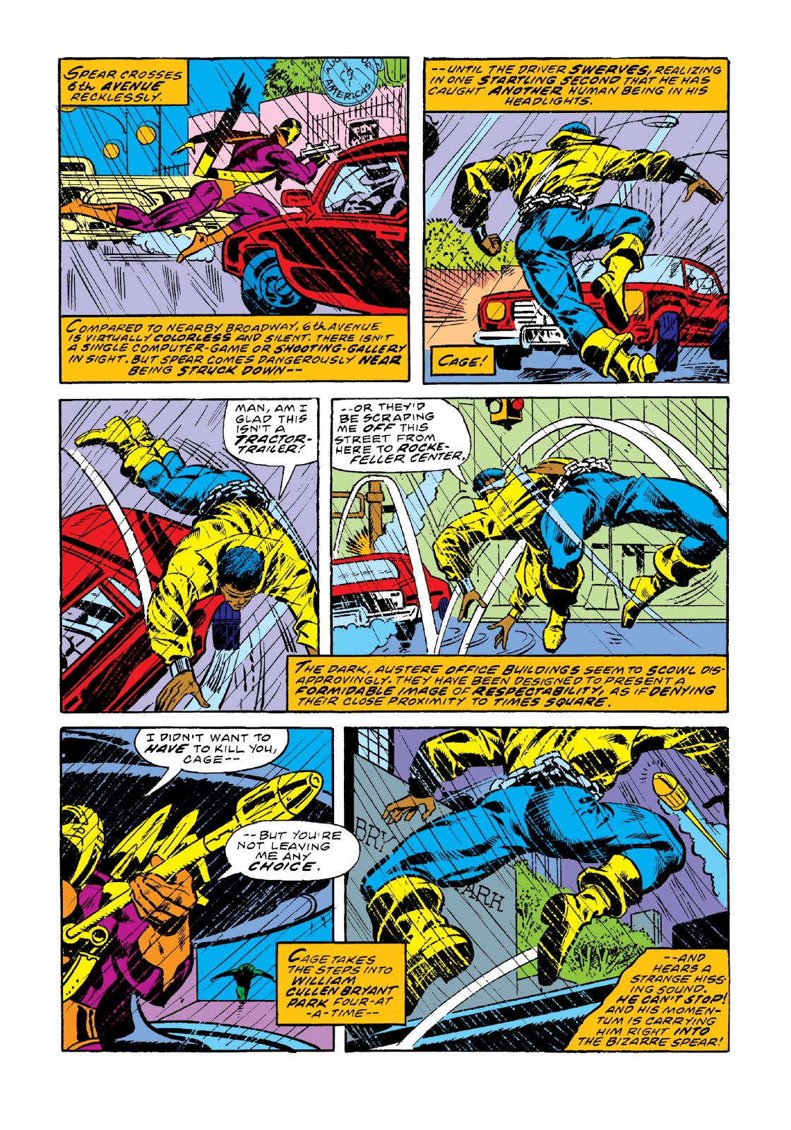 Read online Marvel Masterworks: Luke Cage, Power Man comic -  Issue # TPB 3 (Part 1) - 34