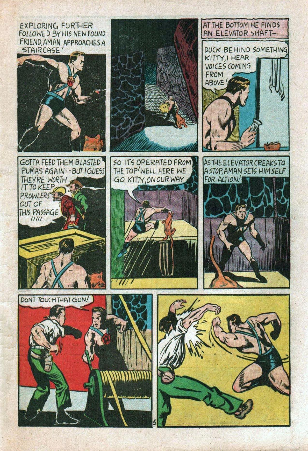 Read online Amazing Man Comics comic -  Issue #20 - 8