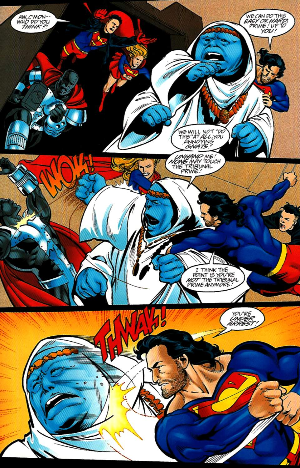 Read online Adventures of Superman (1987) comic -  Issue #531 - 12