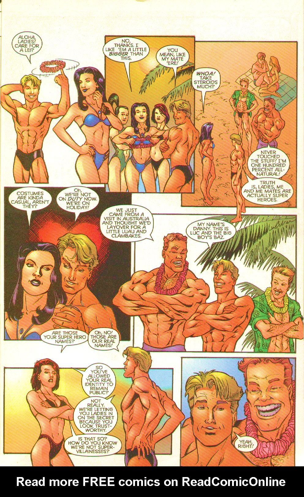 Read online Trinity Angels comic -  Issue #8 - 5