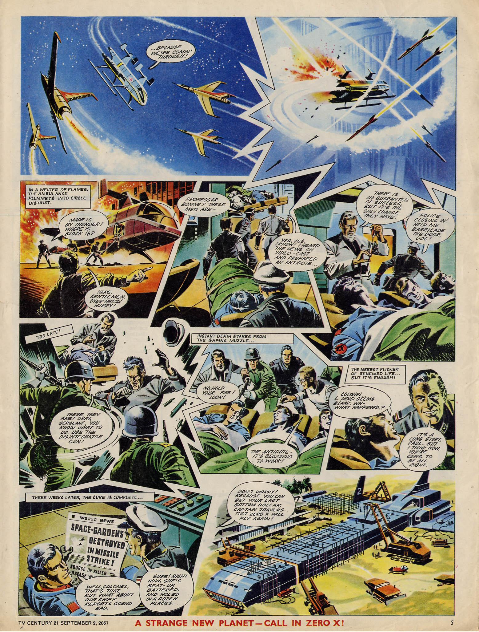 Read online TV Century 21 (TV 21) comic -  Issue #137 - 5