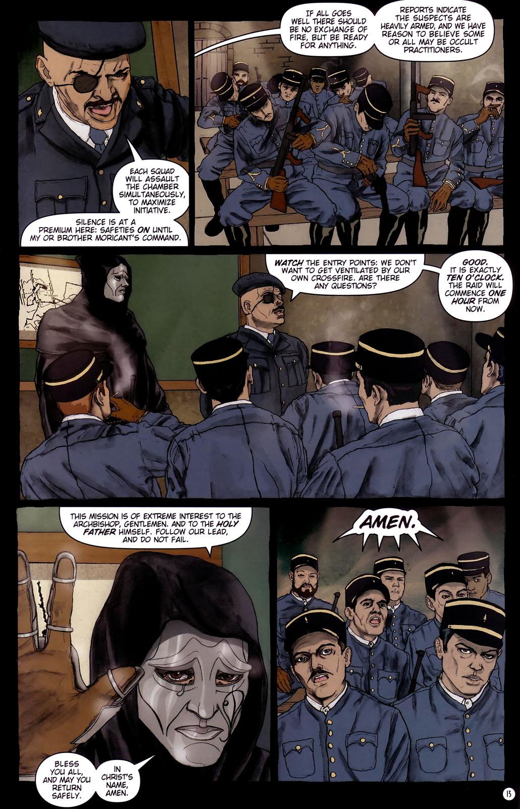 Read online Rex Mundi comic -  Issue #14 - 17