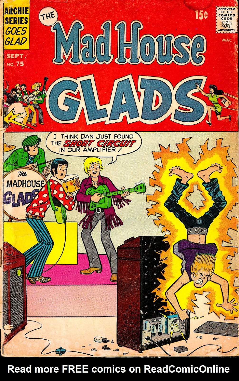 Read online The Mad House Glads comic -  Issue #75 - 1