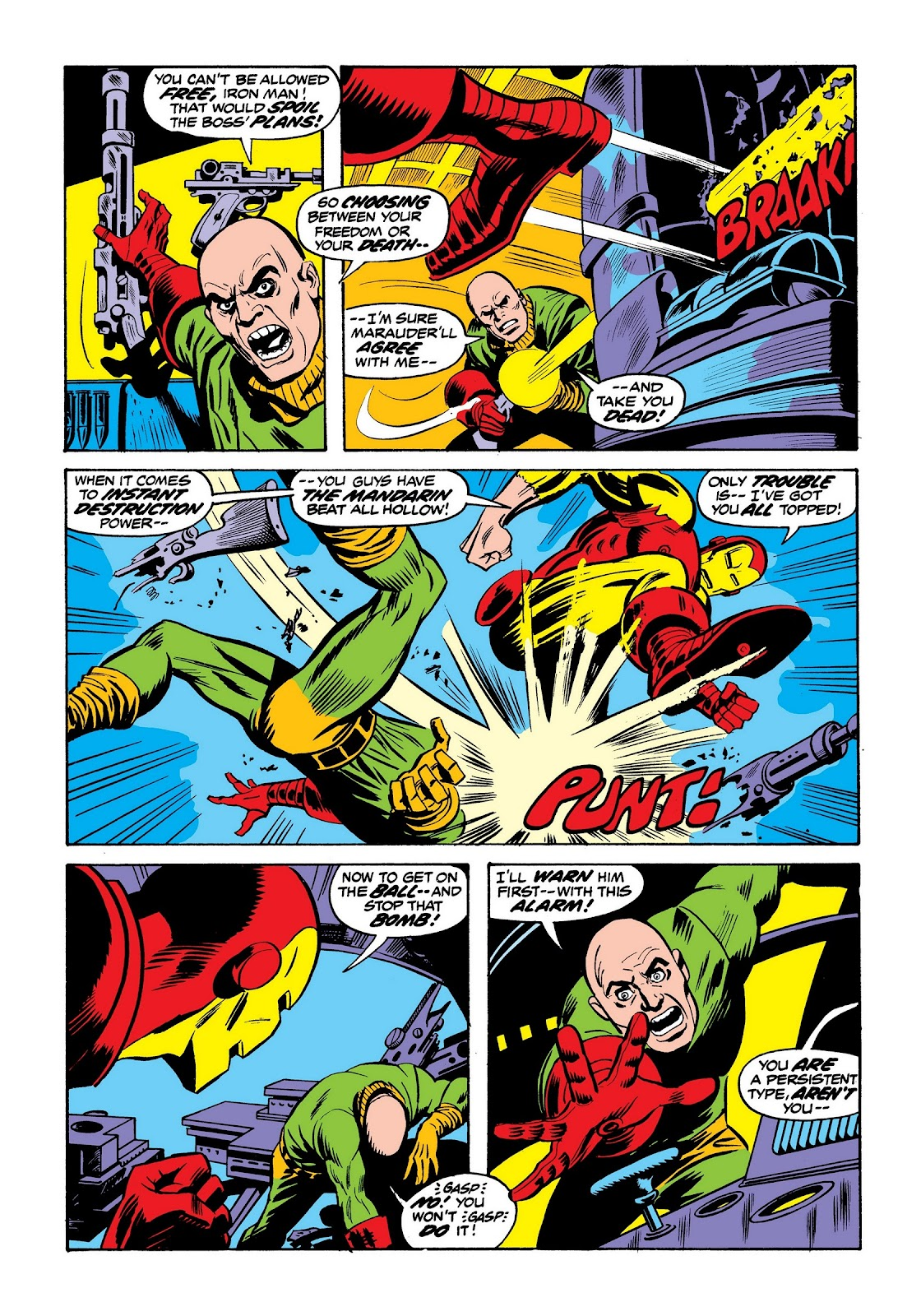Read online Marvel Masterworks: The Invincible Iron Man comic -  Issue # TPB 9 (Part 2) - 62