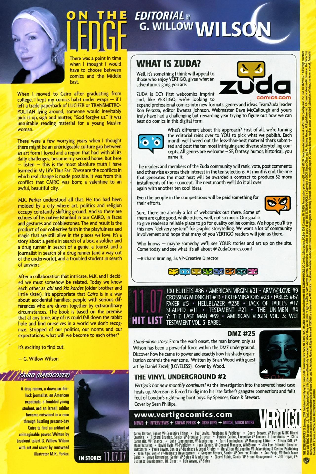 Read online The Exterminators comic -  Issue #23 - 24
