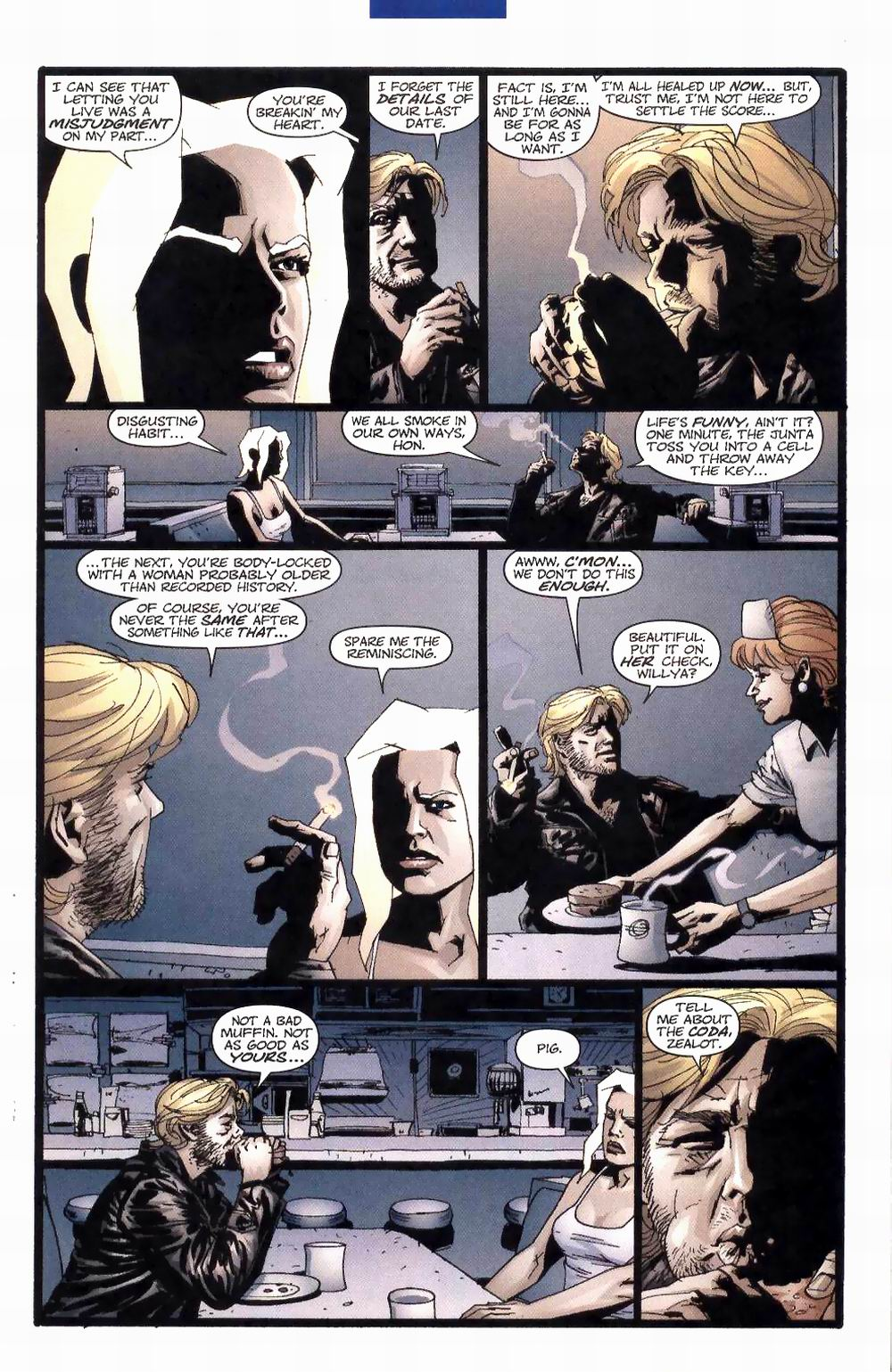Wildcats (1999) Issue #27 #28 - English 4