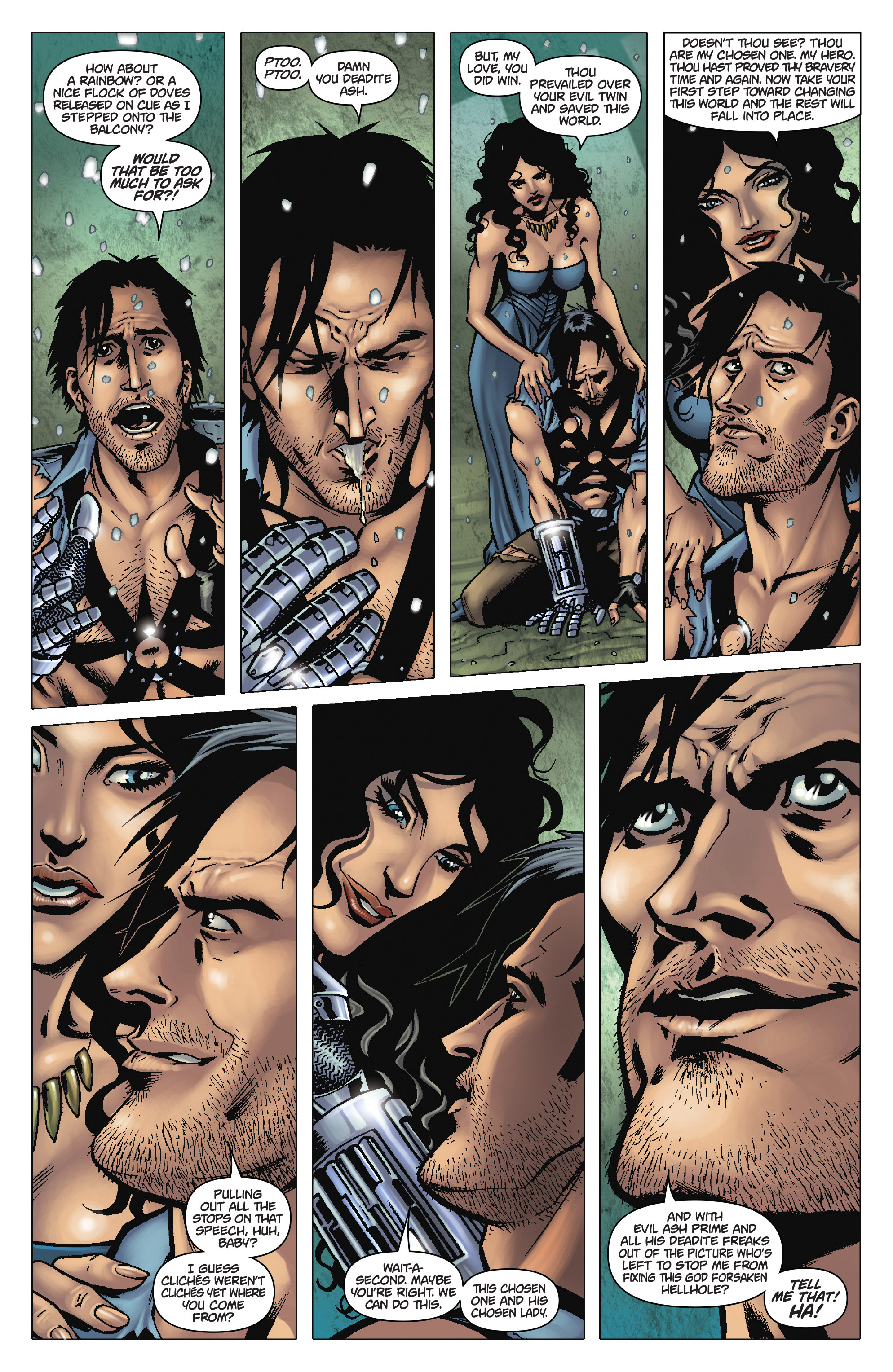 Read online Army of Darkness: The Long Road Home comic -  Issue #Army of Darkness: The Long Road Home TPB - 15