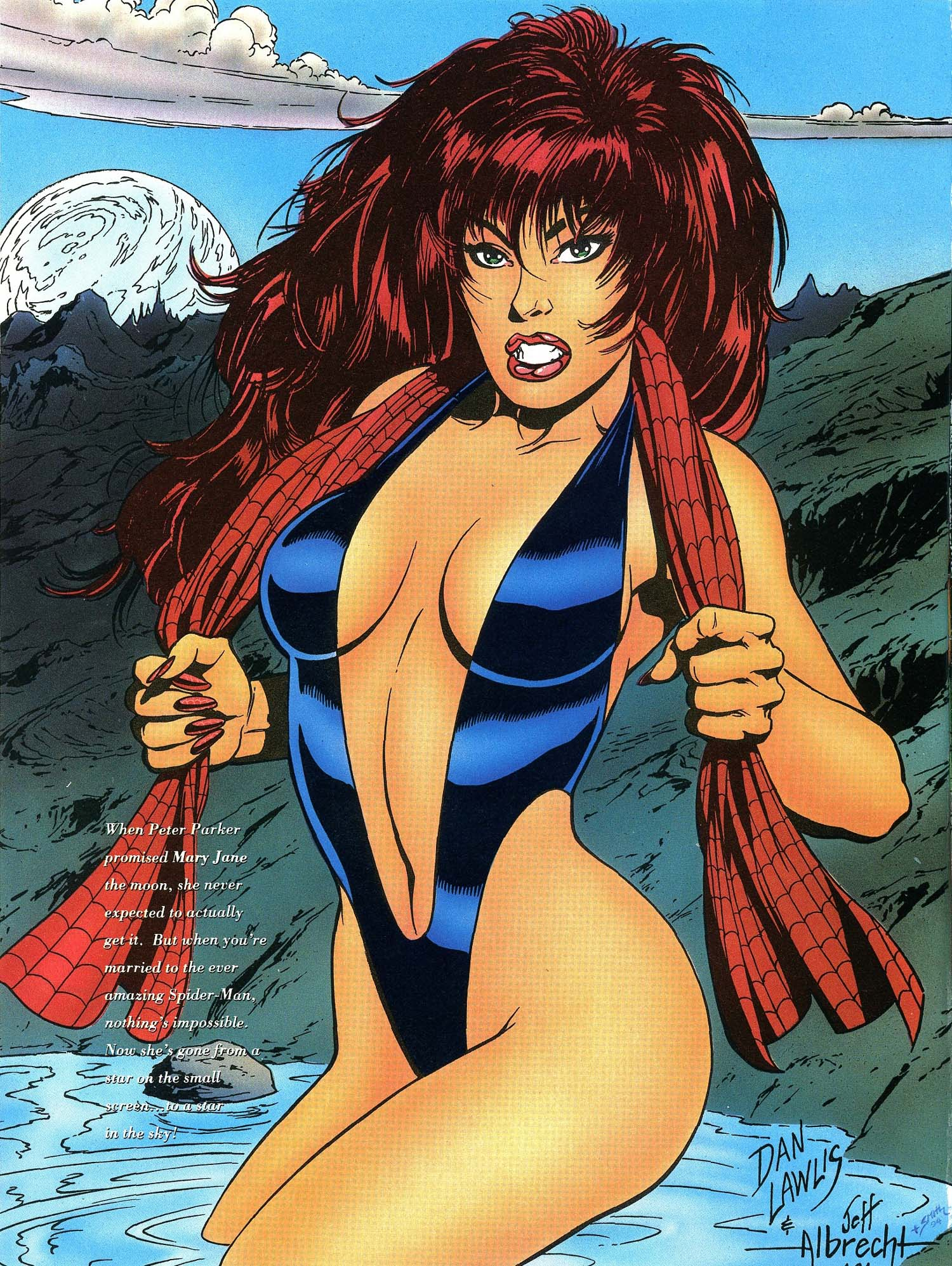 Read online Marvel Swimsuit Special comic -  Issue #3 - 18