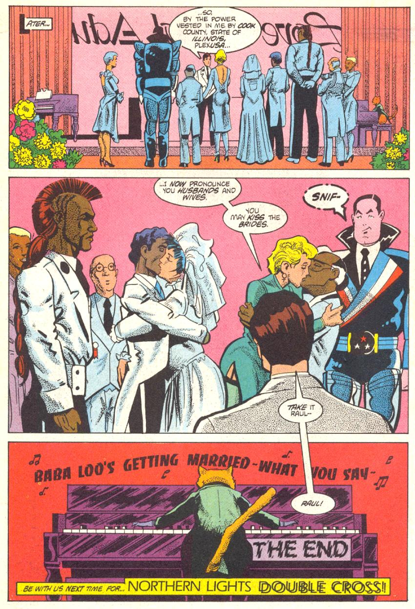 Read online American Flagg! comic -  Issue #14 - 29