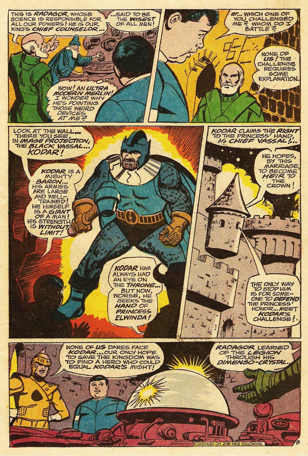 Read online Adventure Comics (1938) comic -  Issue #376 - 11