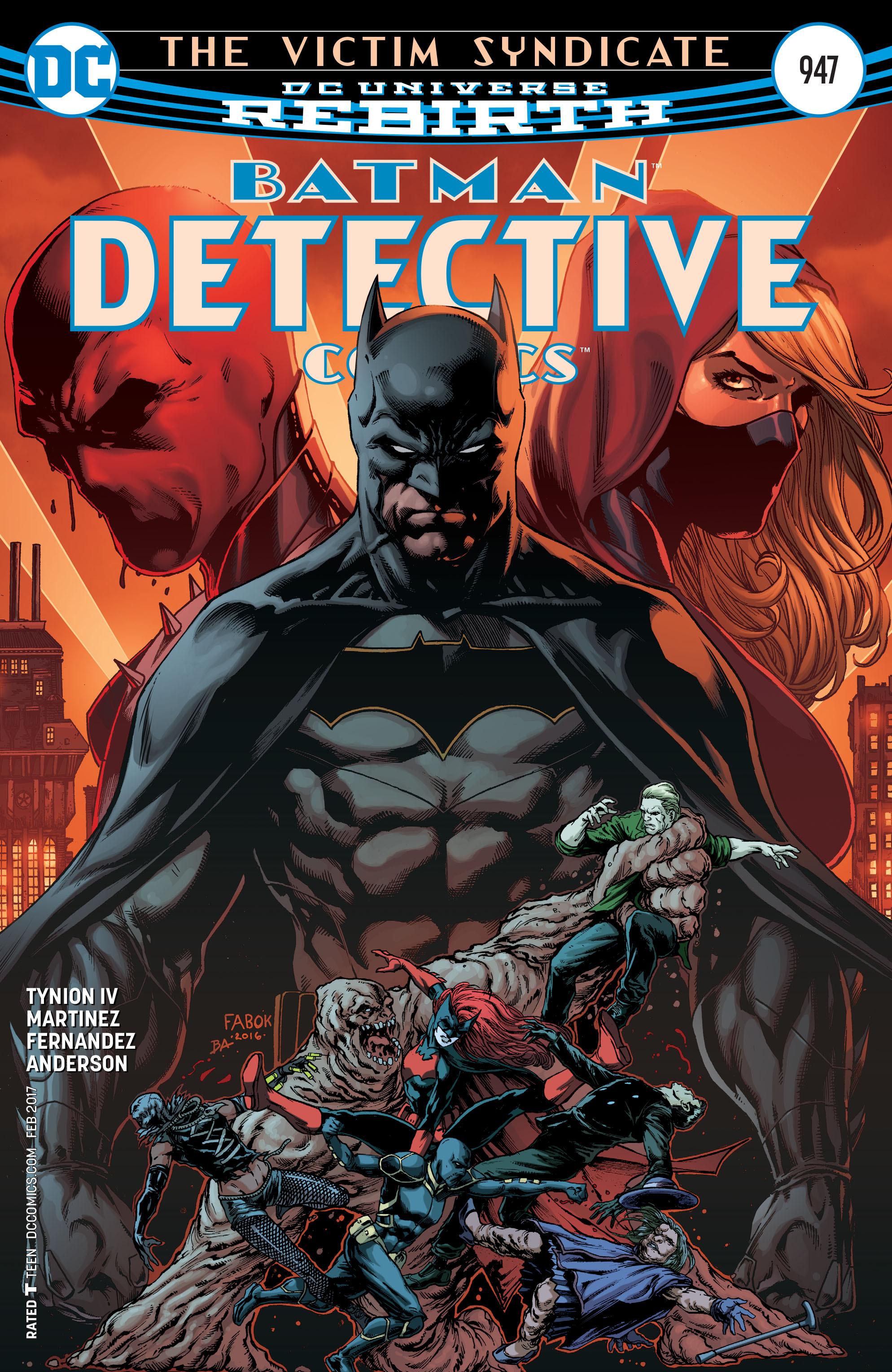 Detective Comics (2016) 947 Page 1