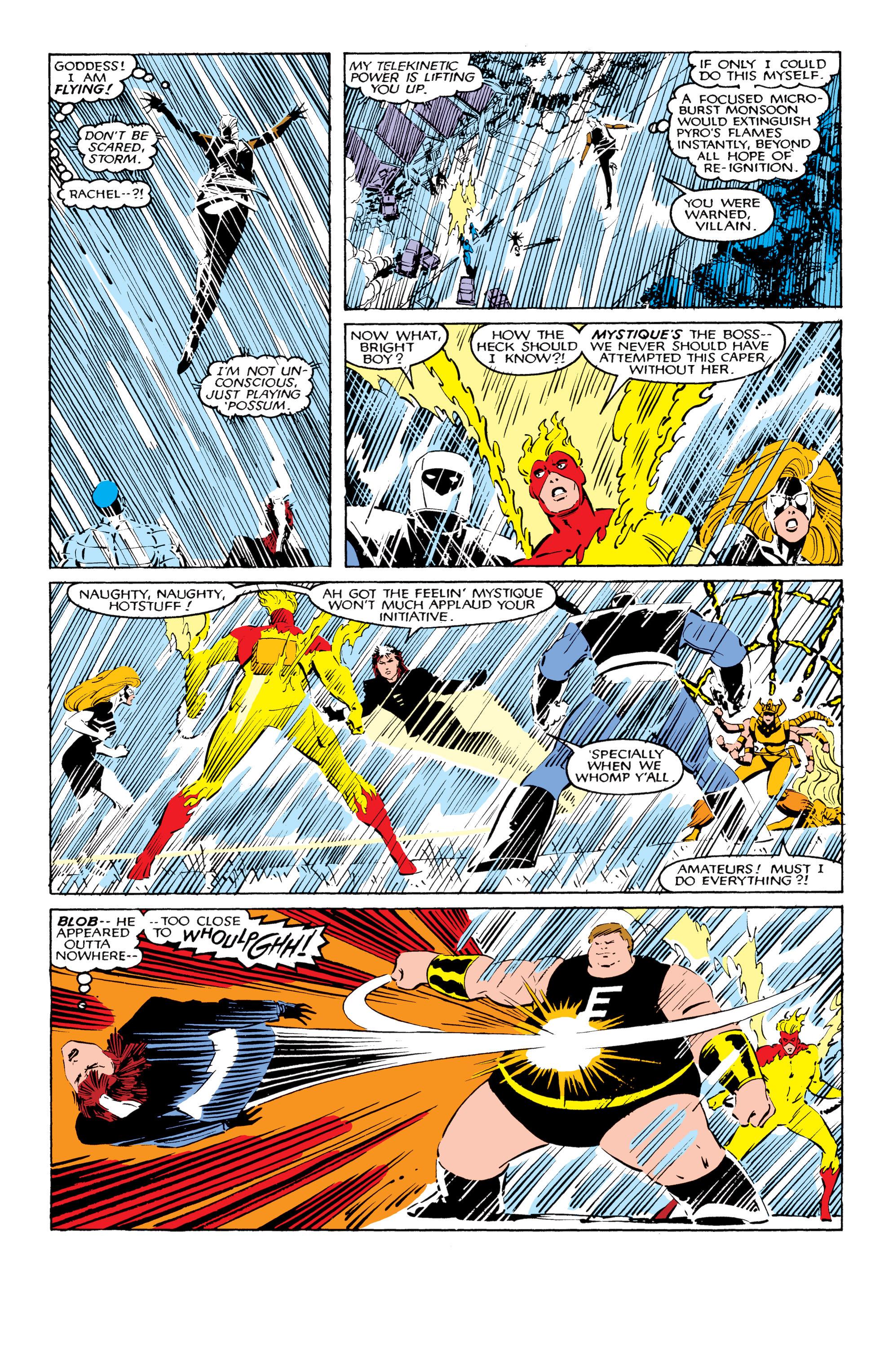 Read online Uncanny X-Men (1963) comic -  Issue #206 - 14